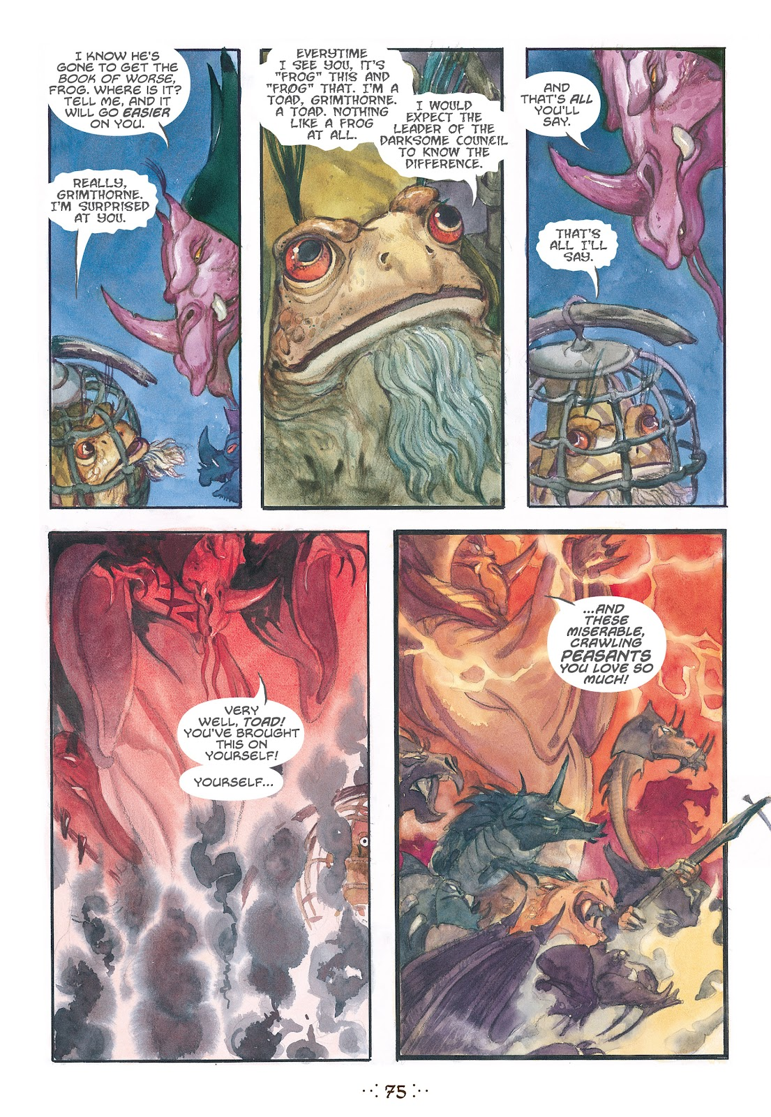 Read online The Wizard's Tale comic -  Issue # TPB - 72