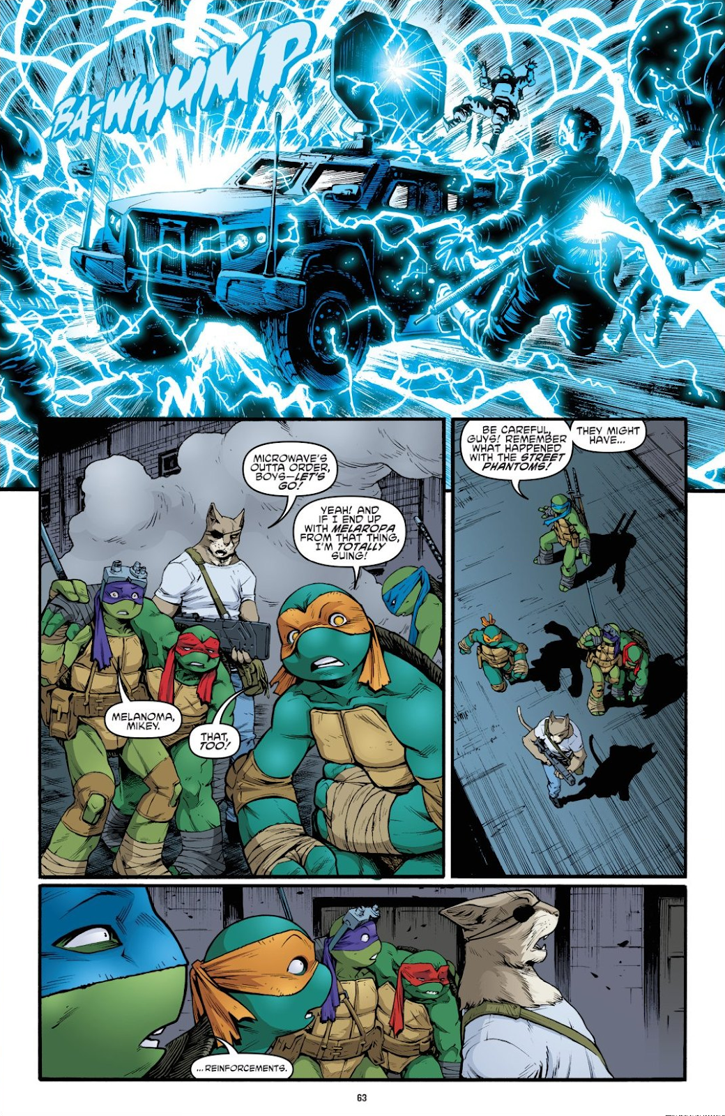 Read online Teenage Mutant Ninja Turtles: The IDW Collection comic -  Issue # TPB 9 (Part 1) - 64