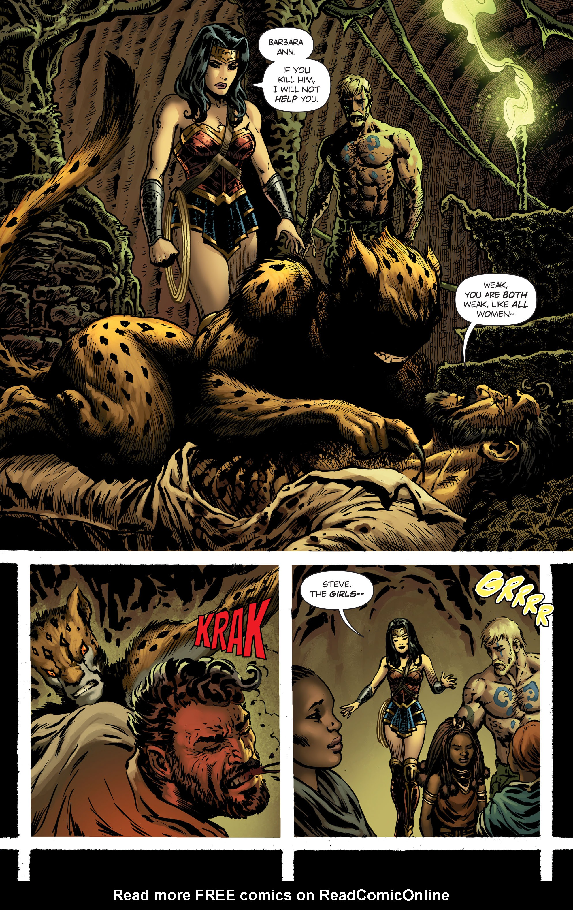 Read online Wonder Woman (2016) comic -  Issue #7 - 15