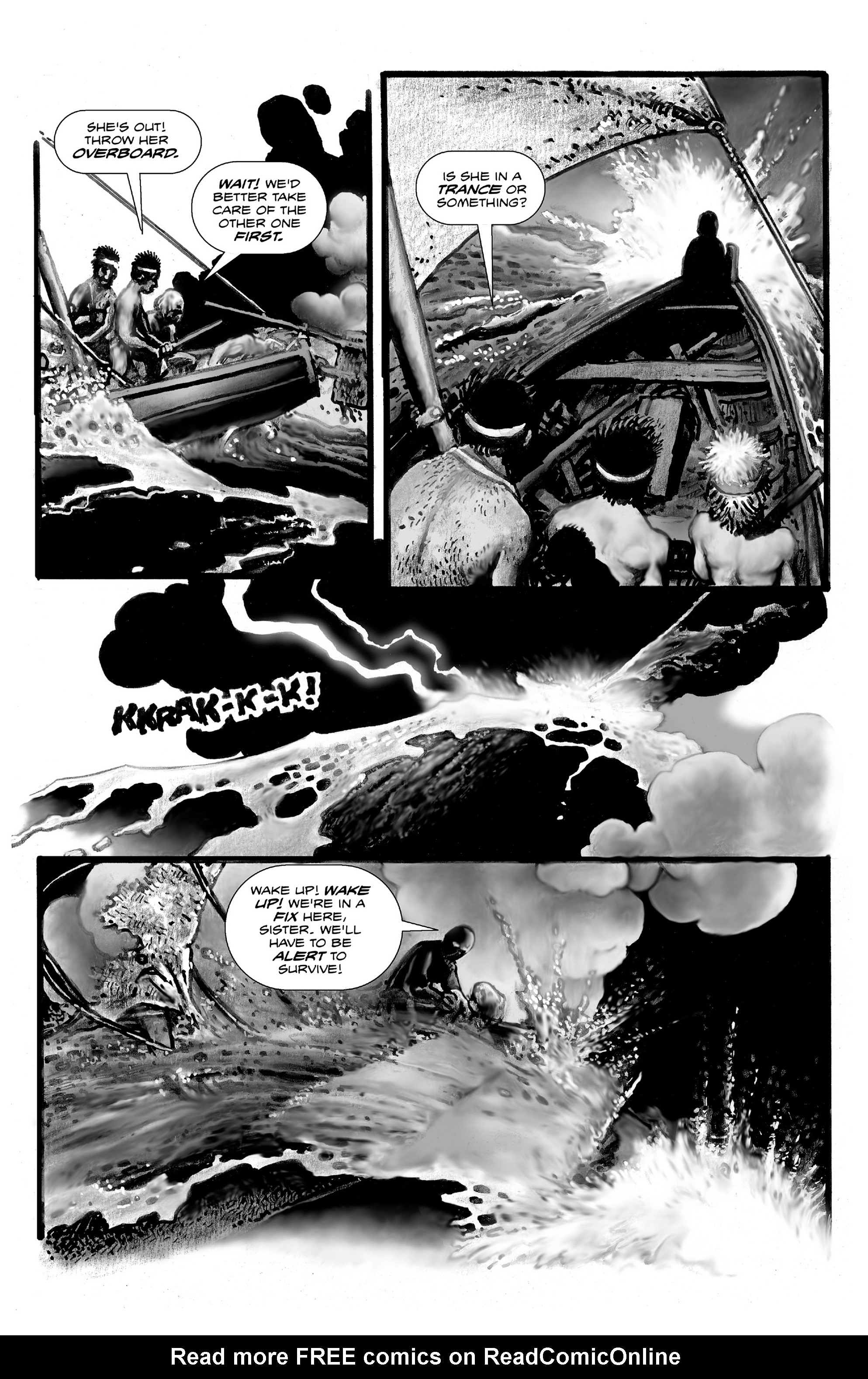 Read online Shadows on the Grave comic -  Issue #3 - 30