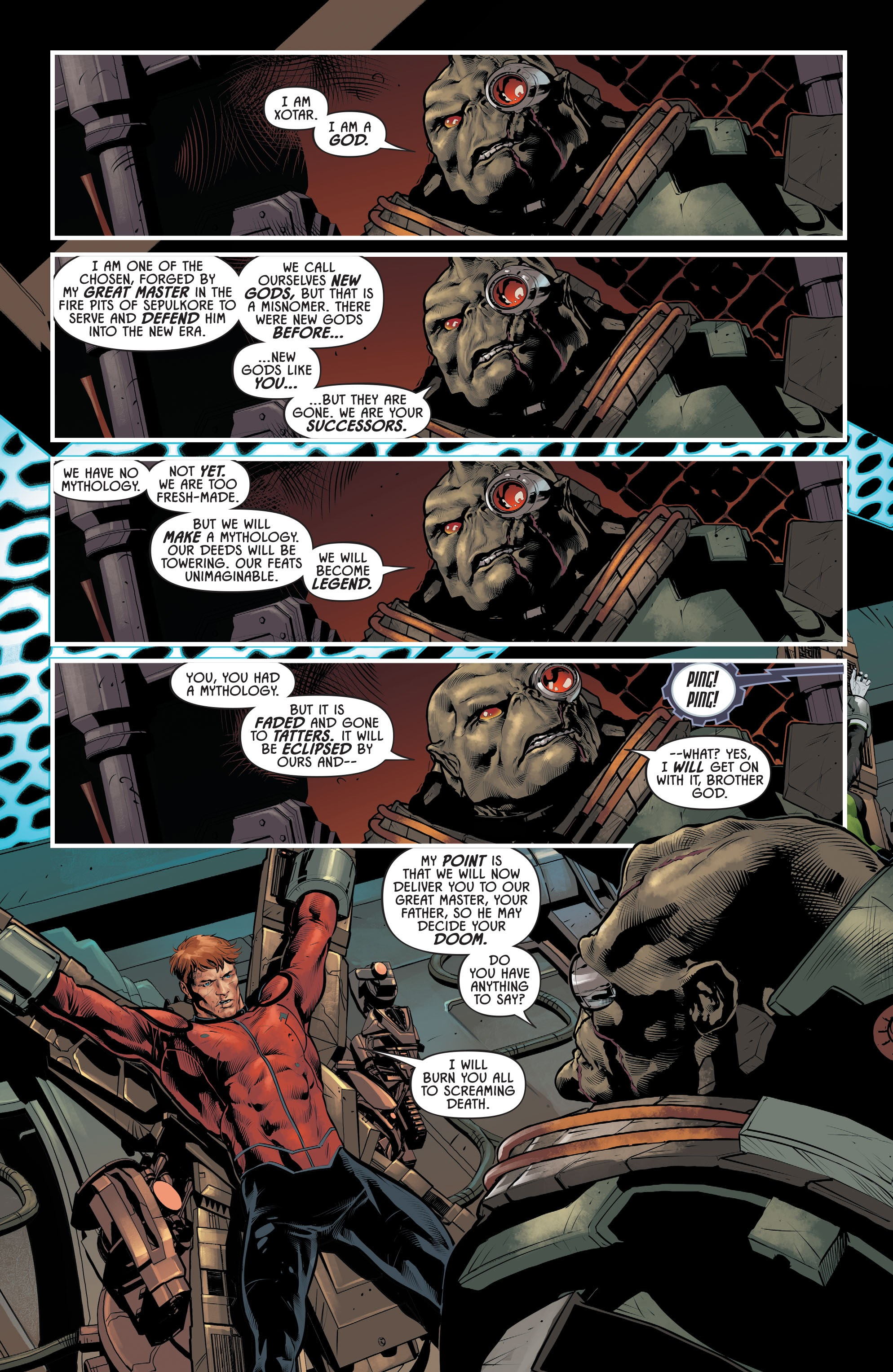 Justice League Odyssey #17 #17 - English 3