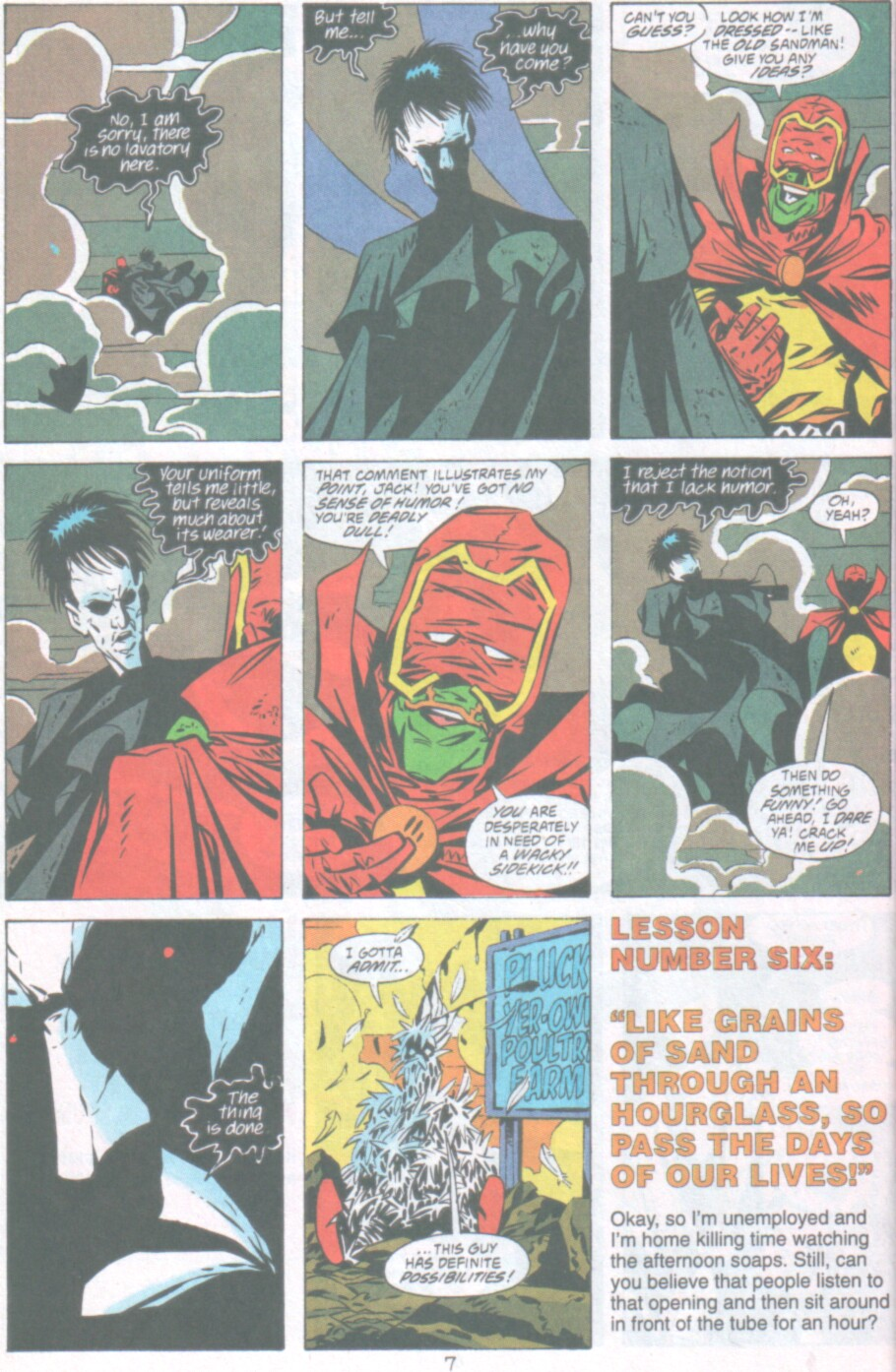 Read online Ambush Bug Nothing Special comic -  Issue # Full - 8
