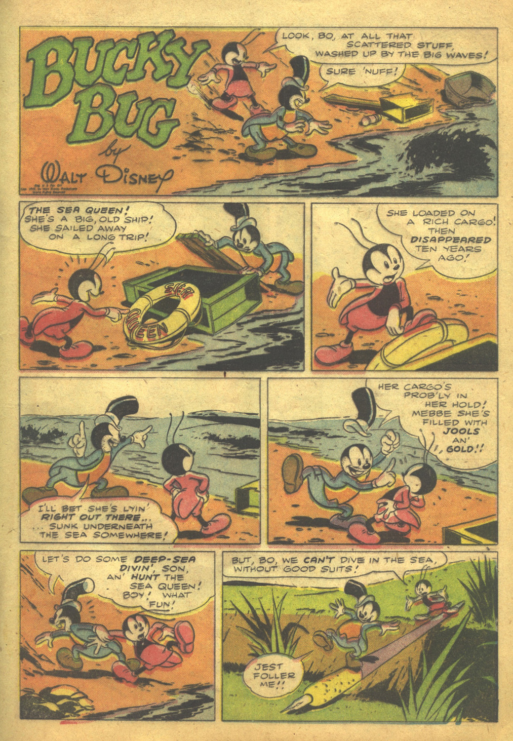 Walt Disney's Comics and Stories issue 62 - Page 13