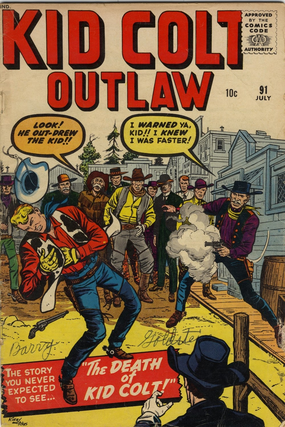 Kid Colt Outlaw issue 91 - Page 1