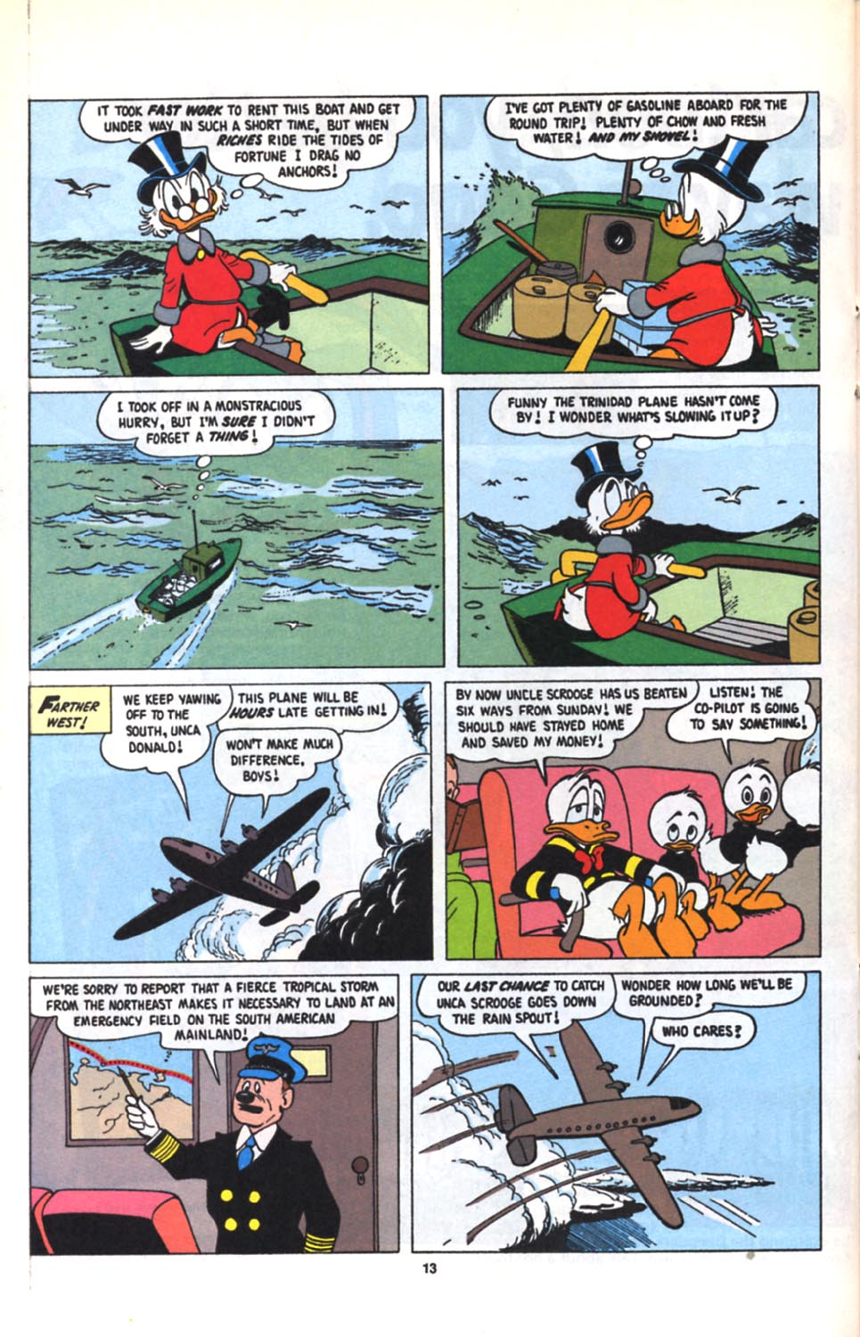 Read online Uncle Scrooge (1953) comic -  Issue #279 - 14