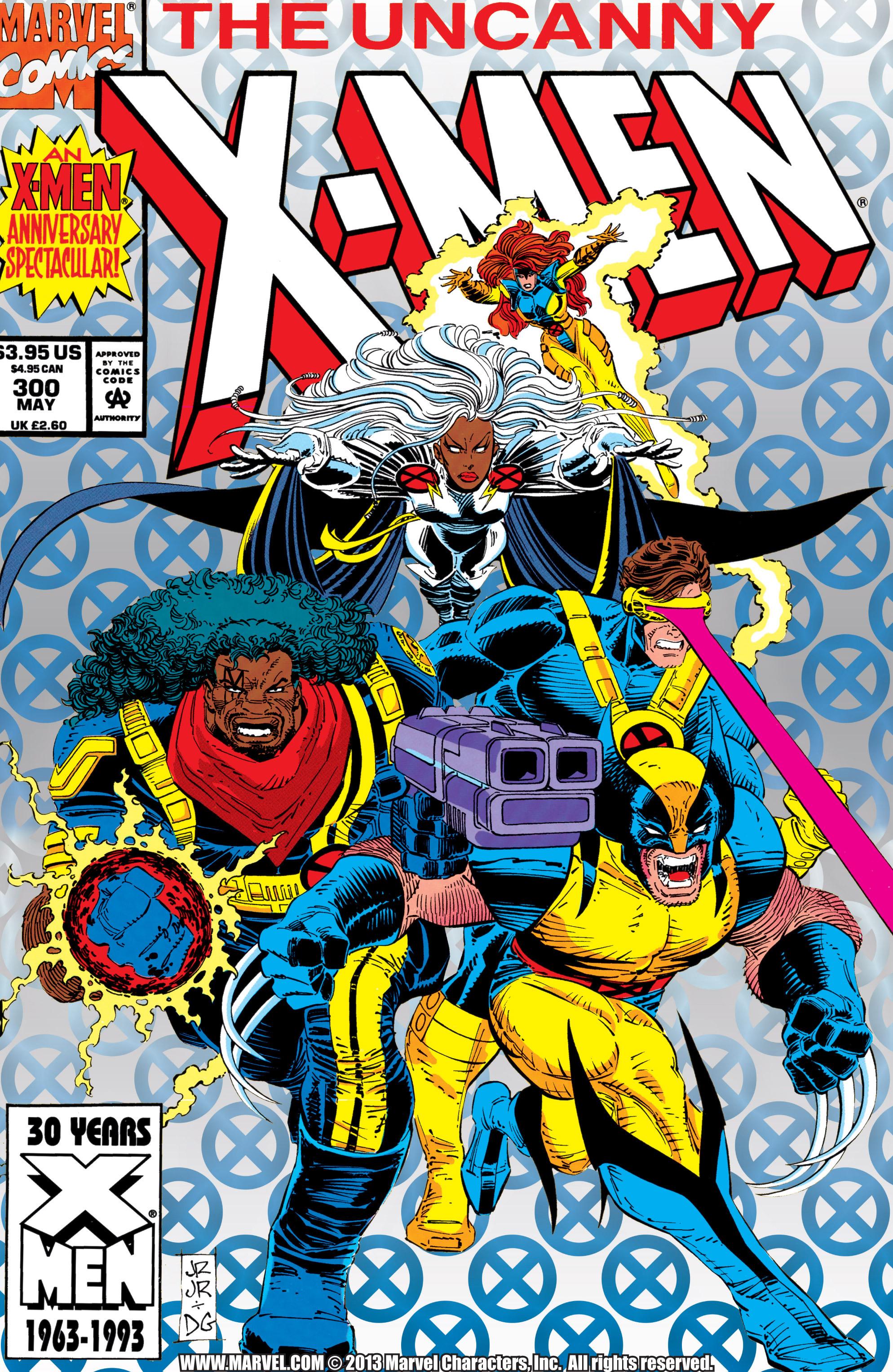 Uncanny X-Men (1963) 300 Page 1