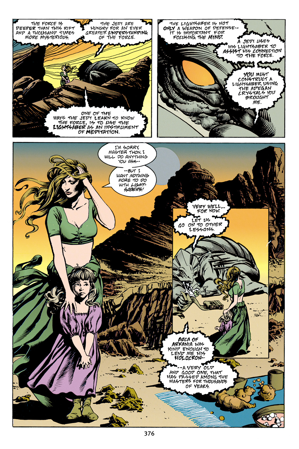 Read online Star Wars Omnibus comic -  Issue # Vol. 4 - 364