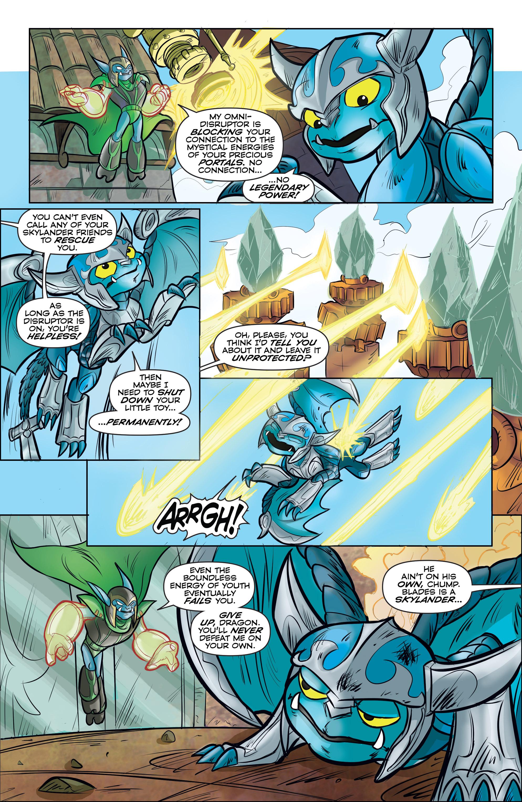 Read online Skylanders comic -  Issue #5 - 14