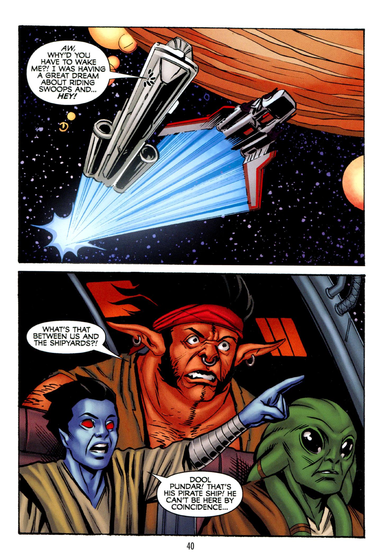 Read online Star Wars: The Clone Wars - Strange Allies comic -  Issue # Full - 41