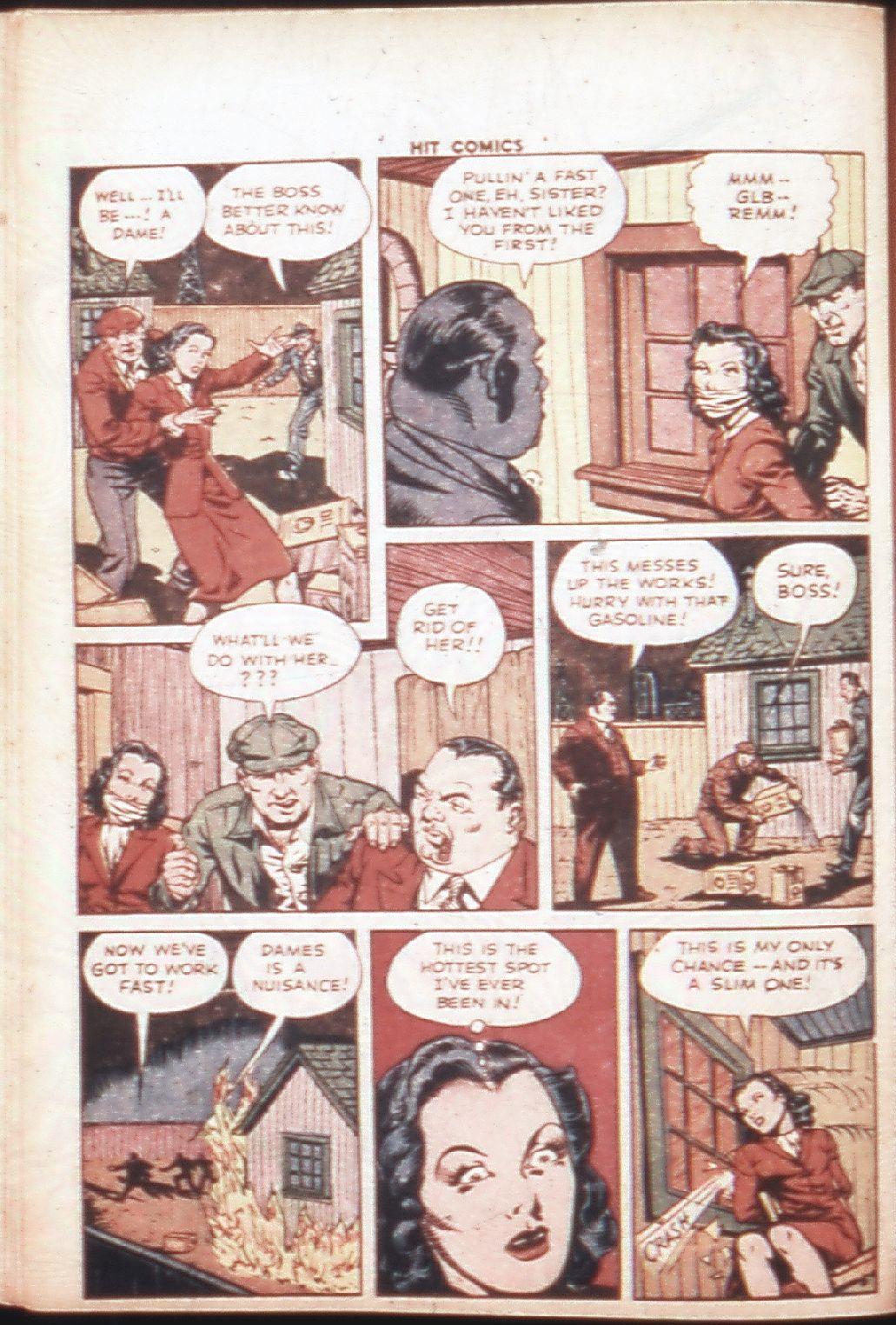 Read online Hit Comics comic -  Issue #30 - 23