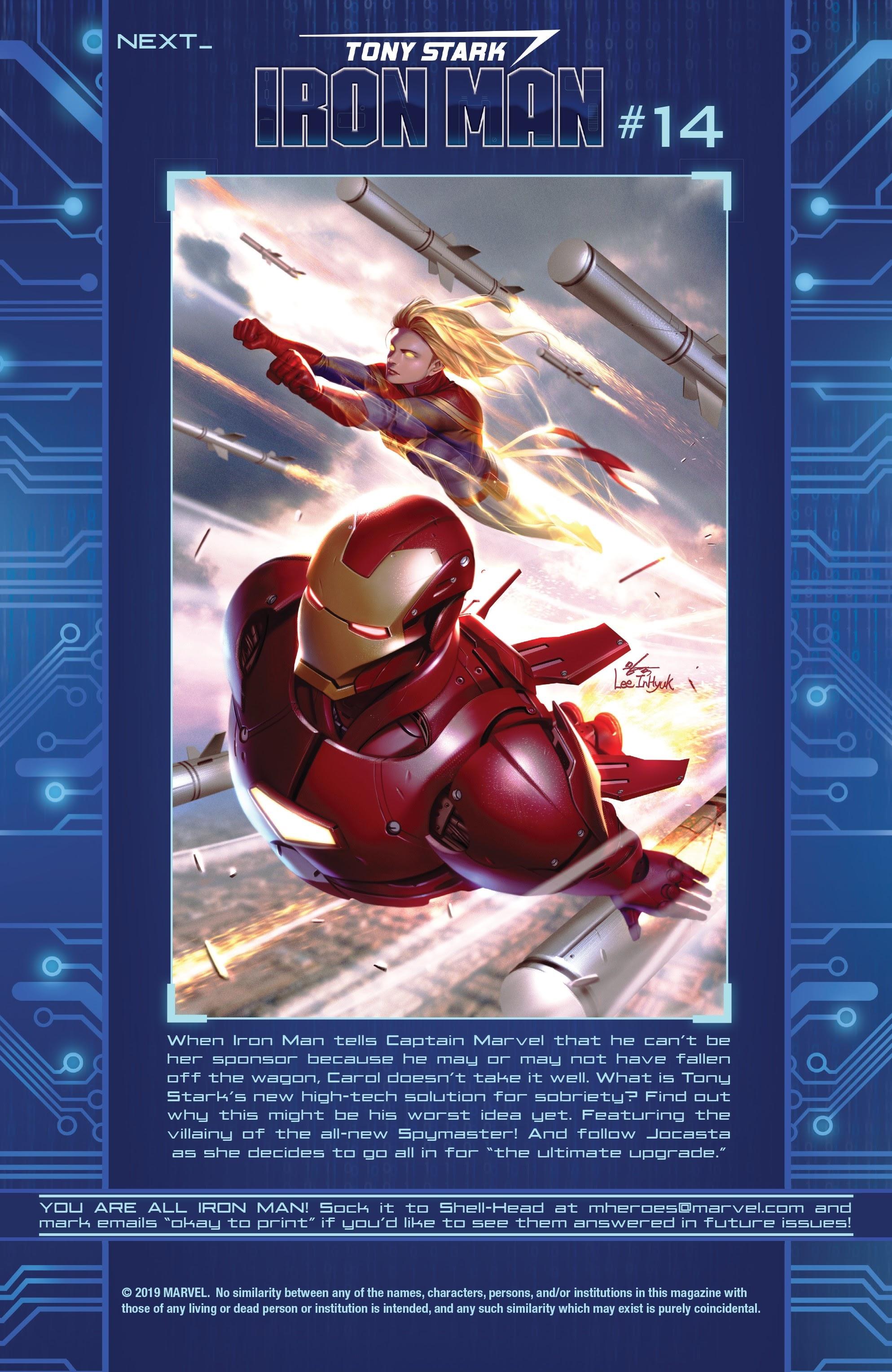 Read online Tony Stark: Iron Man comic -  Issue #13 - 24