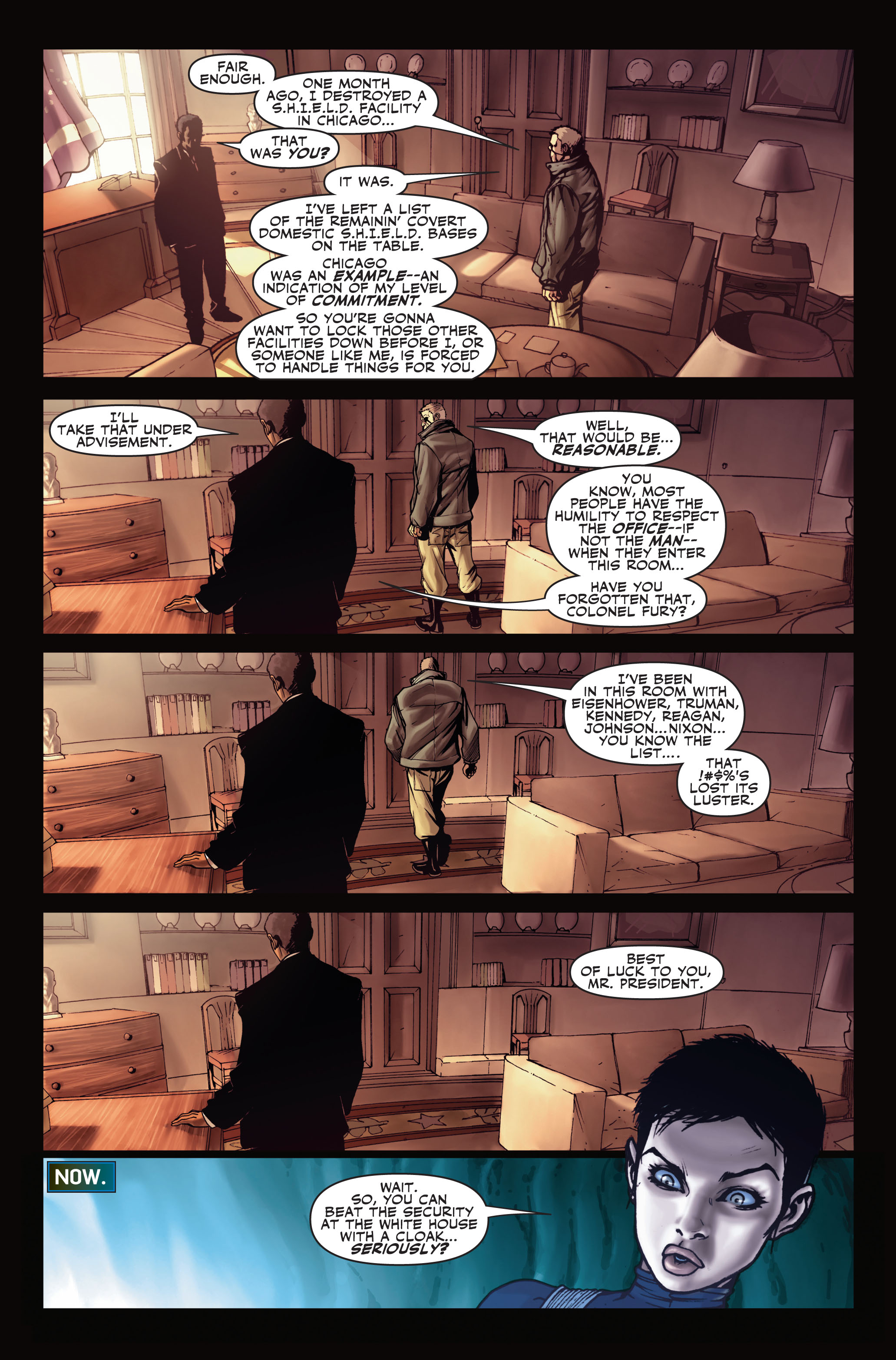Read online Secret Warriors comic -  Issue #1 - 22