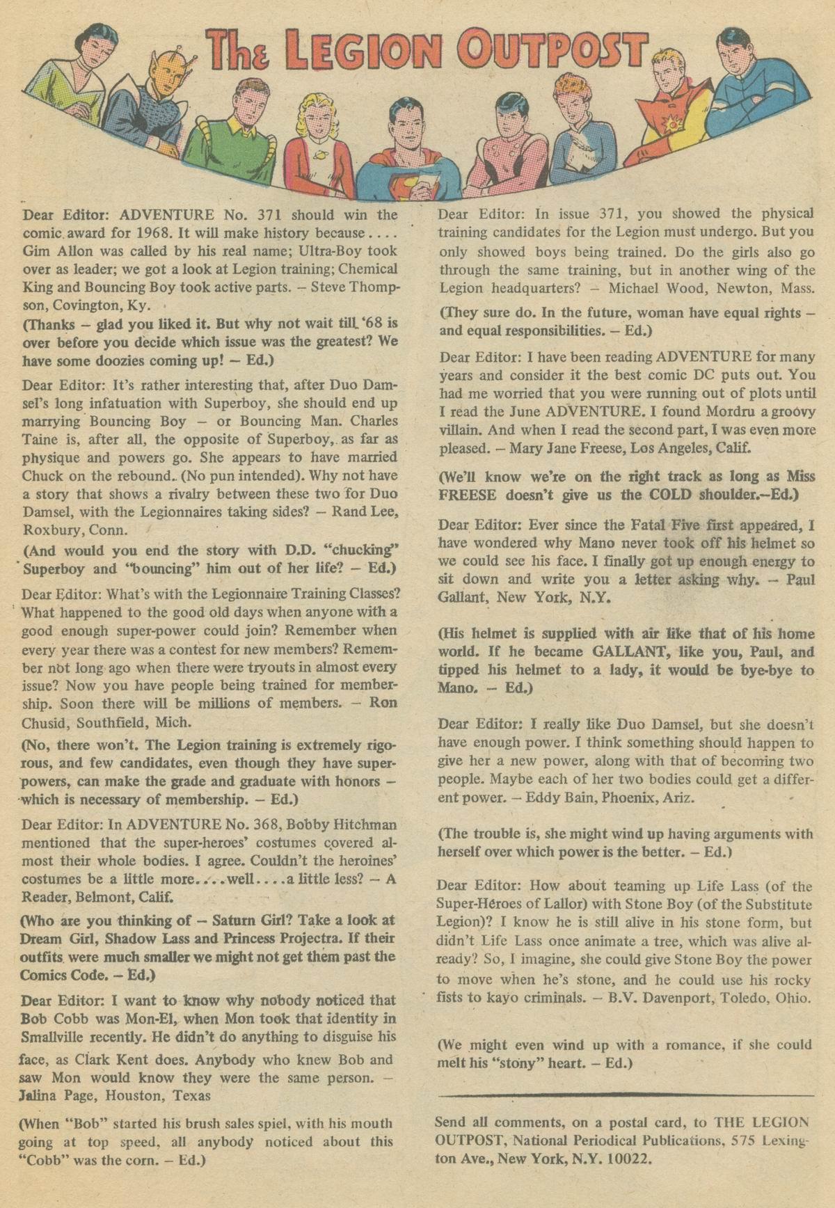 Read online Adventure Comics (1938) comic -  Issue #374 - 18