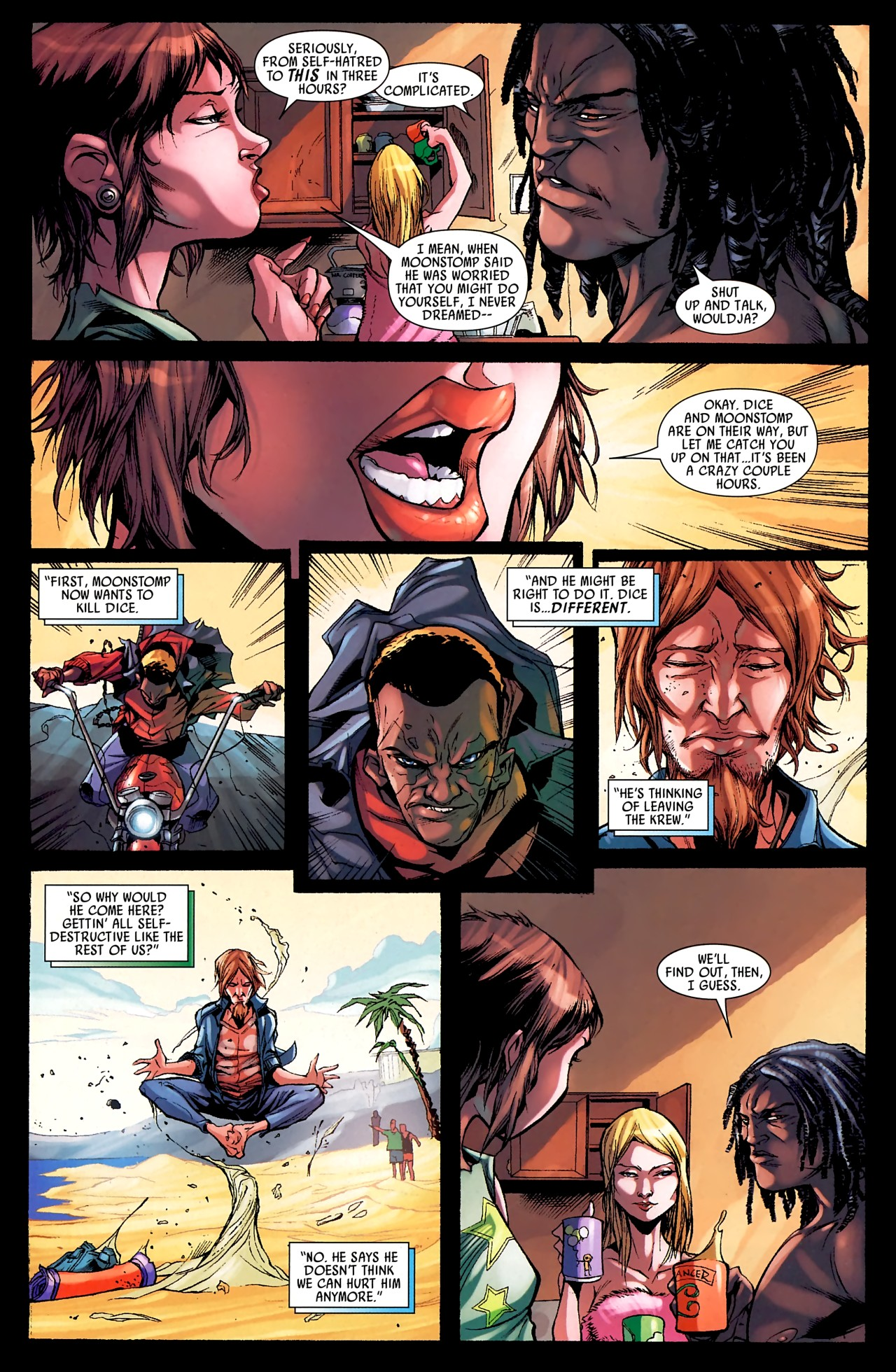 Read online Skrull Kill Krew (2009) comic -  Issue #4 - 13