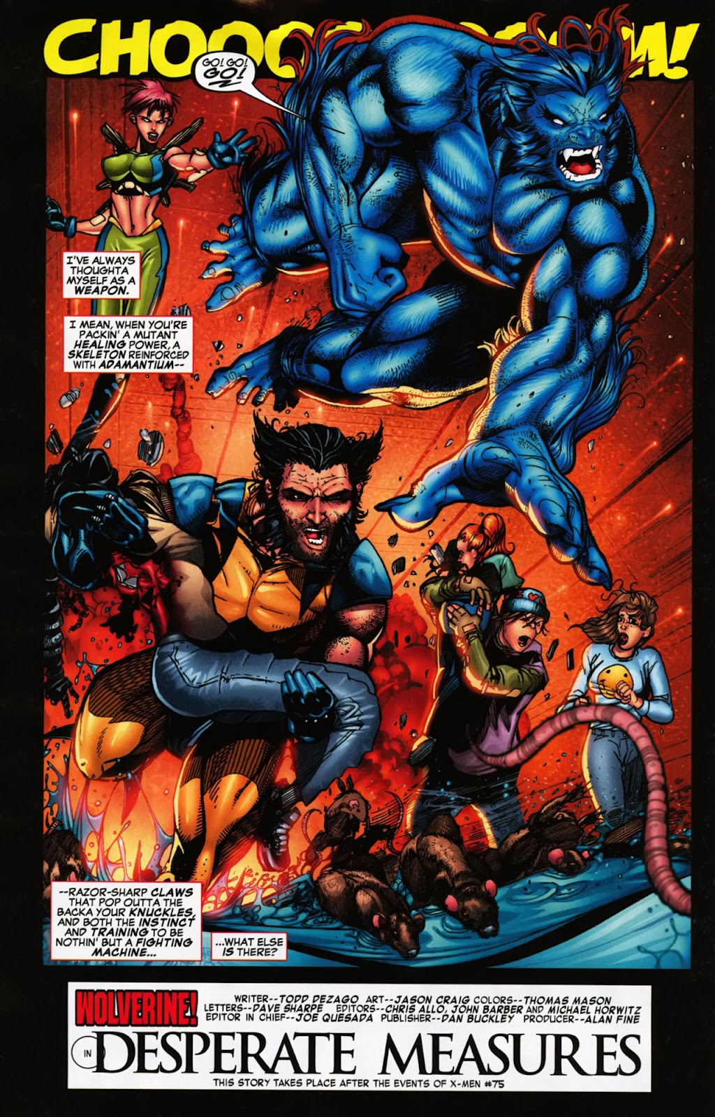 Read online Wolverine (2003) comic -  Issue #900 - 35