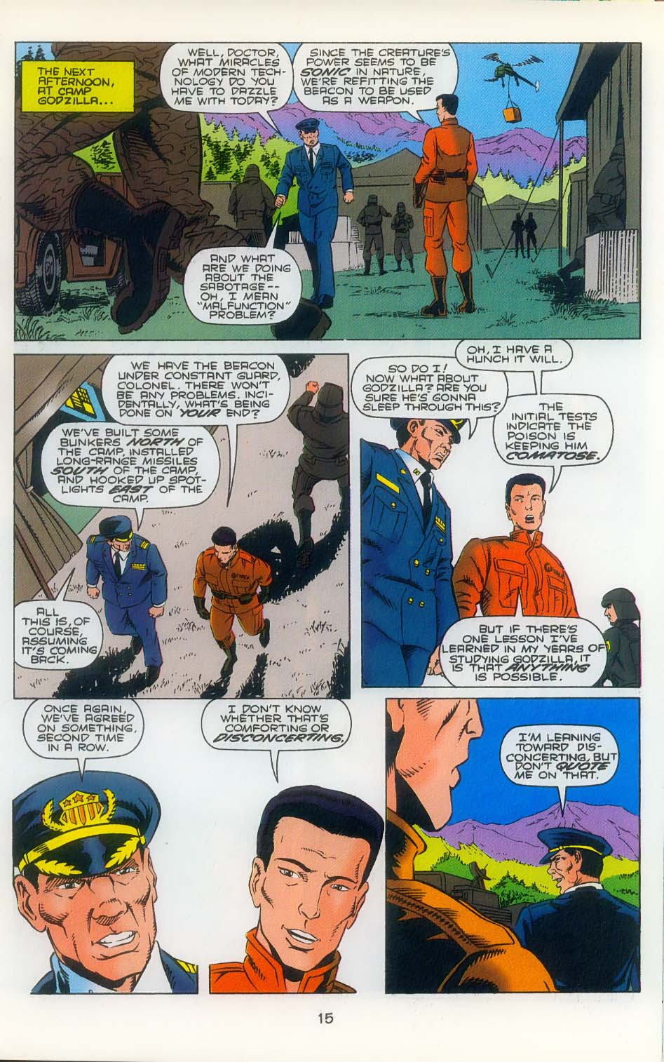 Godzilla (1995) Issue #3 #4 - English 17