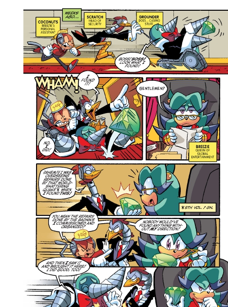 Read online Sonic Comics Spectacular: Speed of Sound comic -  Issue # Full - 61