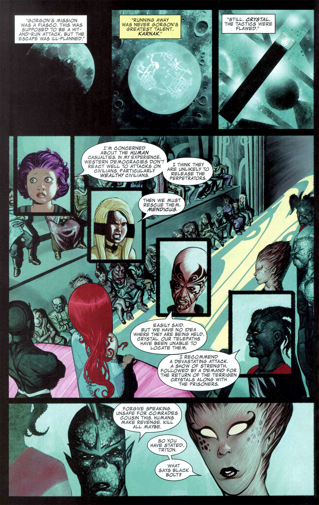 Read online Silent War comic -  Issue #1 - 18
