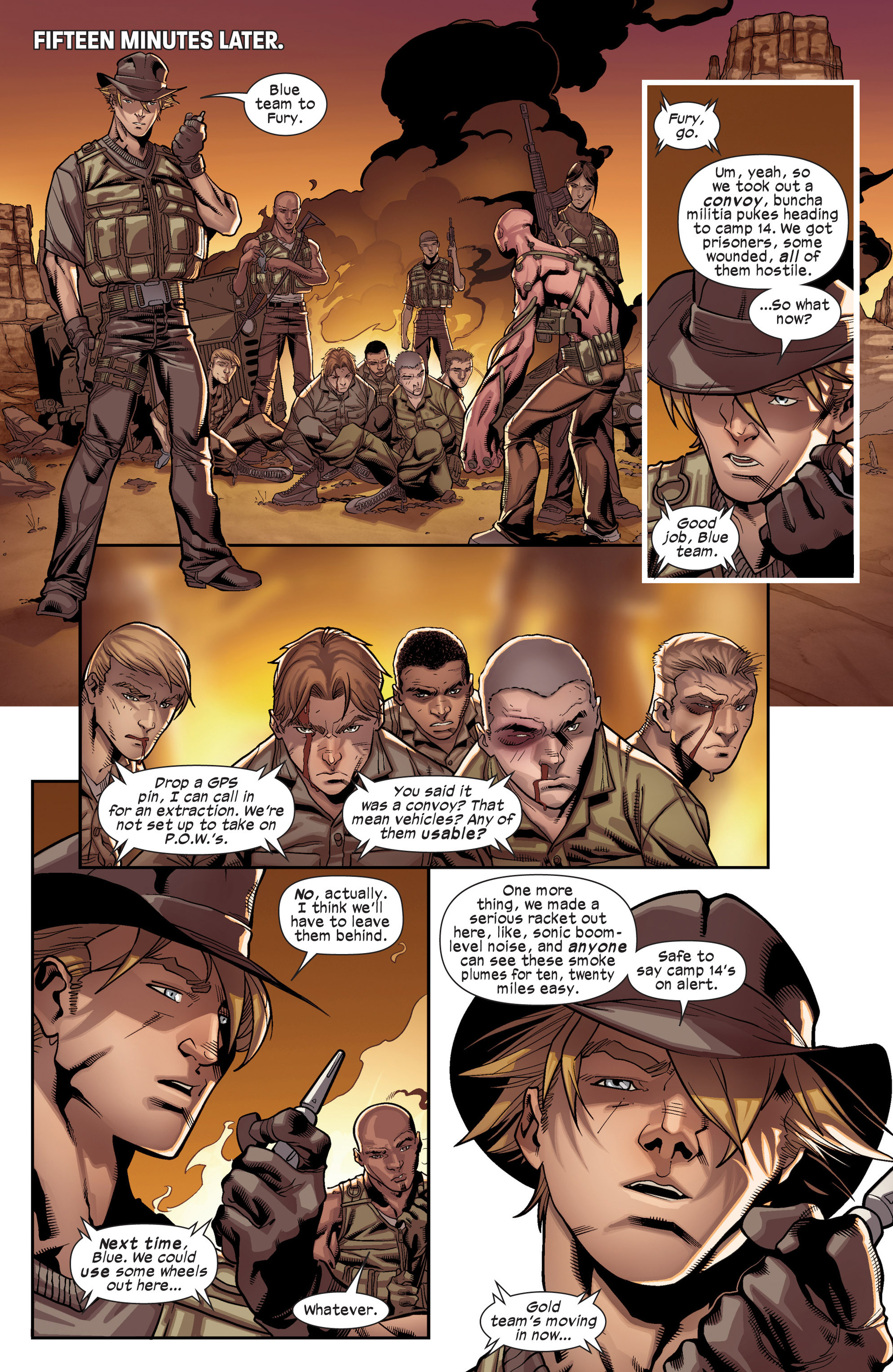 Read online Ultimate Comics X-Men comic -  Issue #17 - 12