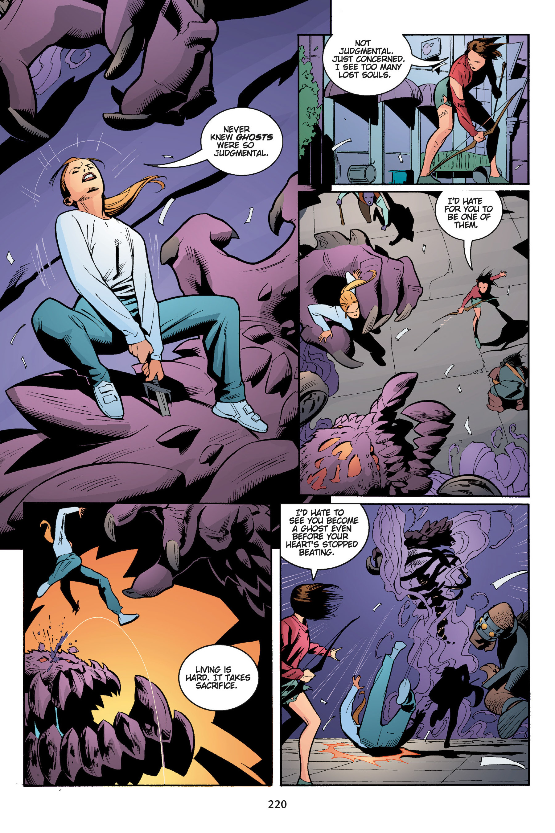 Read online Buffy the Vampire Slayer: Omnibus comic -  Issue # TPB 5 - 220