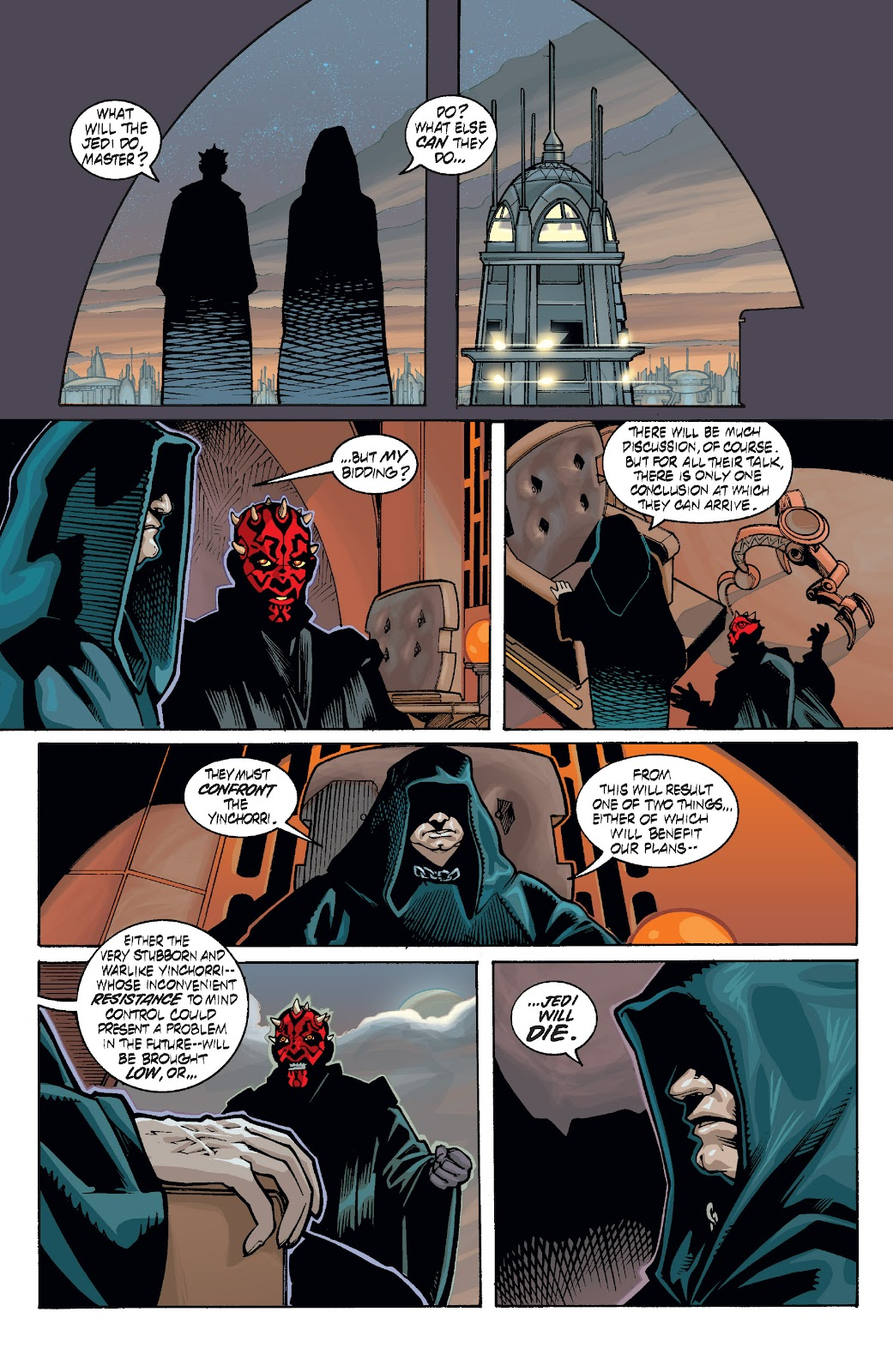 Read online Star Wars Legends: Rise of the Sith - Epic Collection comic -  Issue # TPB 1 (Part 4) - 74