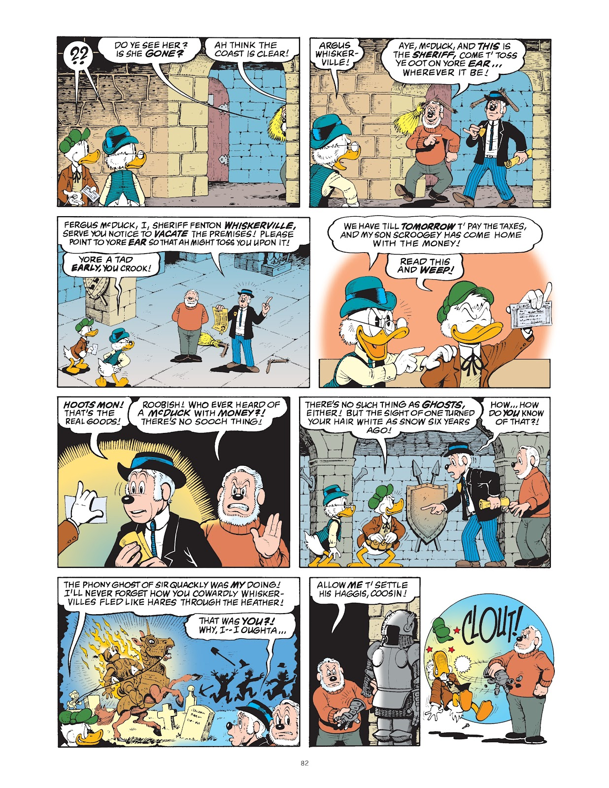 Read online The Complete Life and Times of Scrooge McDuck comic -  Issue # TPB 1 (Part 1) - 85