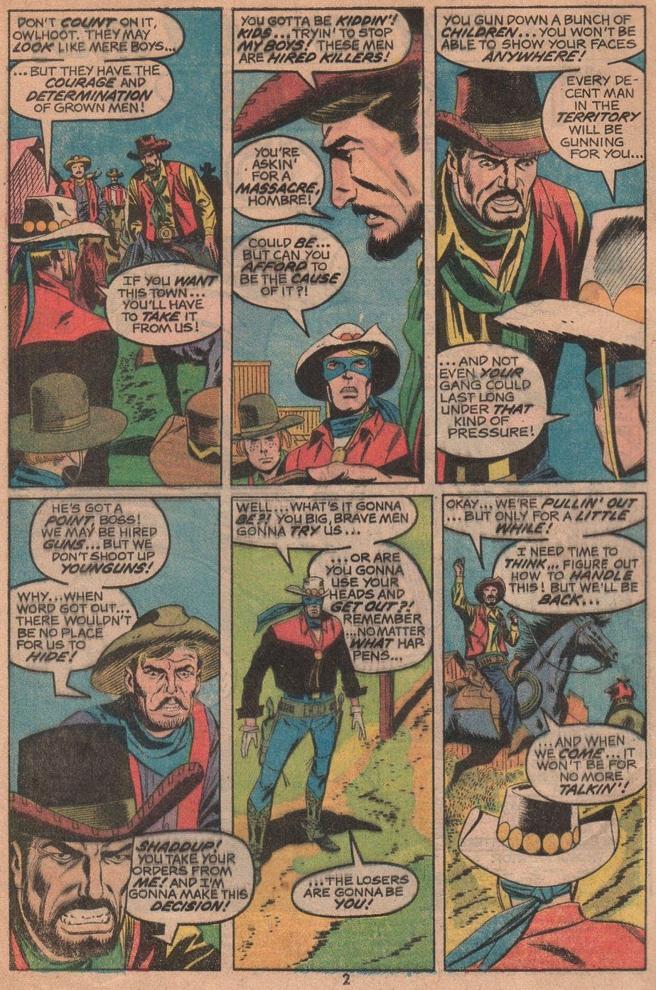 The Outlaw Kid (1970) issue 14 - Page 4