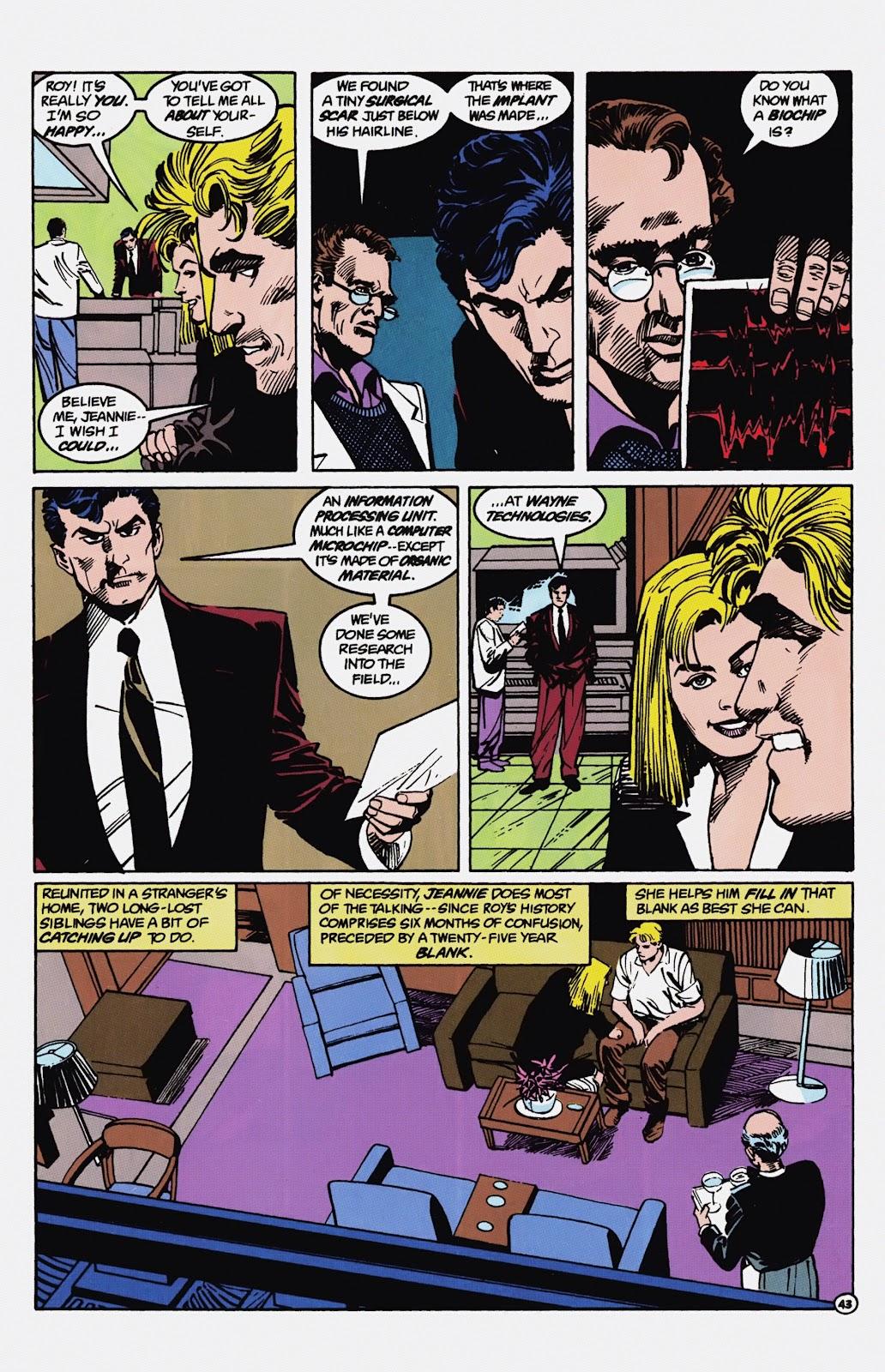 Read online Detective Comics (1937) comic -  Issue # _TPB Batman - Blind Justice (Part 1) - 48