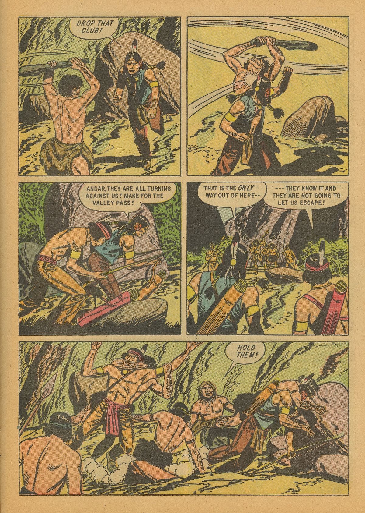 Read online Turok, Son of Stone comic -  Issue #14 - 25