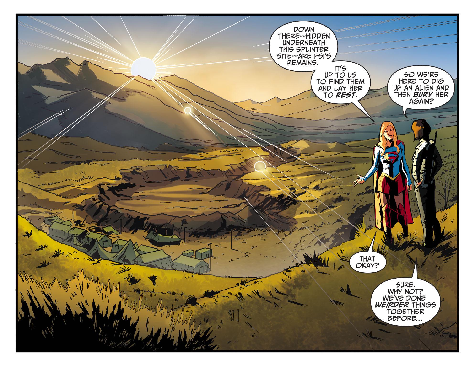 Read online Adventures of Supergirl comic -  Issue #8 - 13