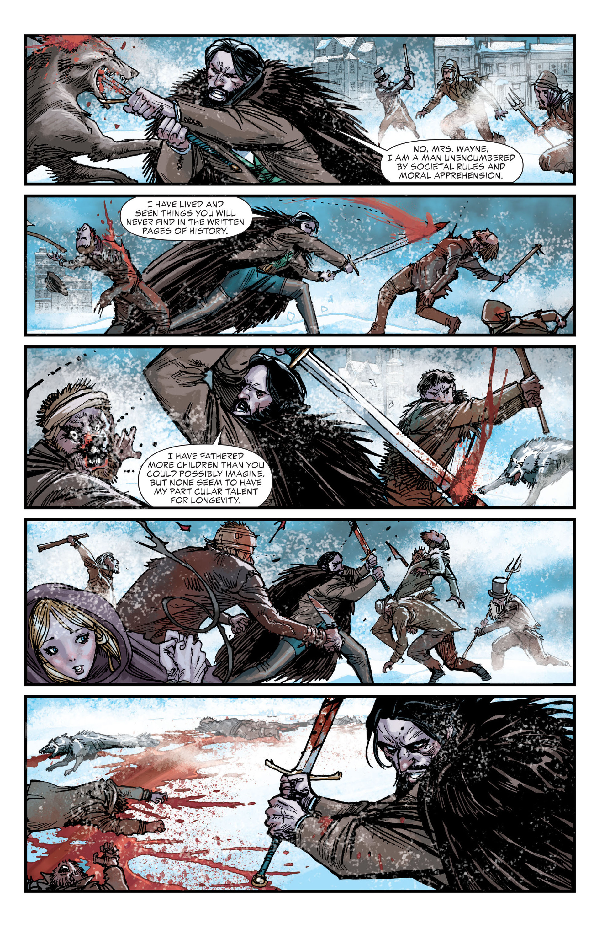 Read online All-Star Western (2011) comic -  Issue #18 - 12