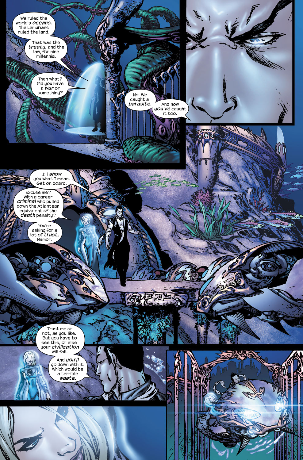 Read online Ultimate Fantastic Four (2004) comic -  Issue #56 - 10