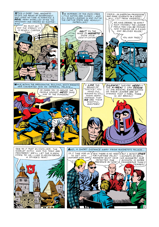 Read online Uncanny X-Men (1963) comic -  Issue #4 - 13