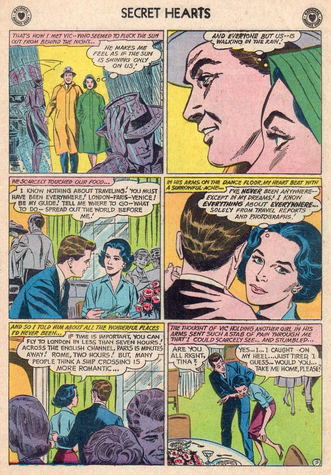 Read online Secret Hearts comic -  Issue #67 - 5