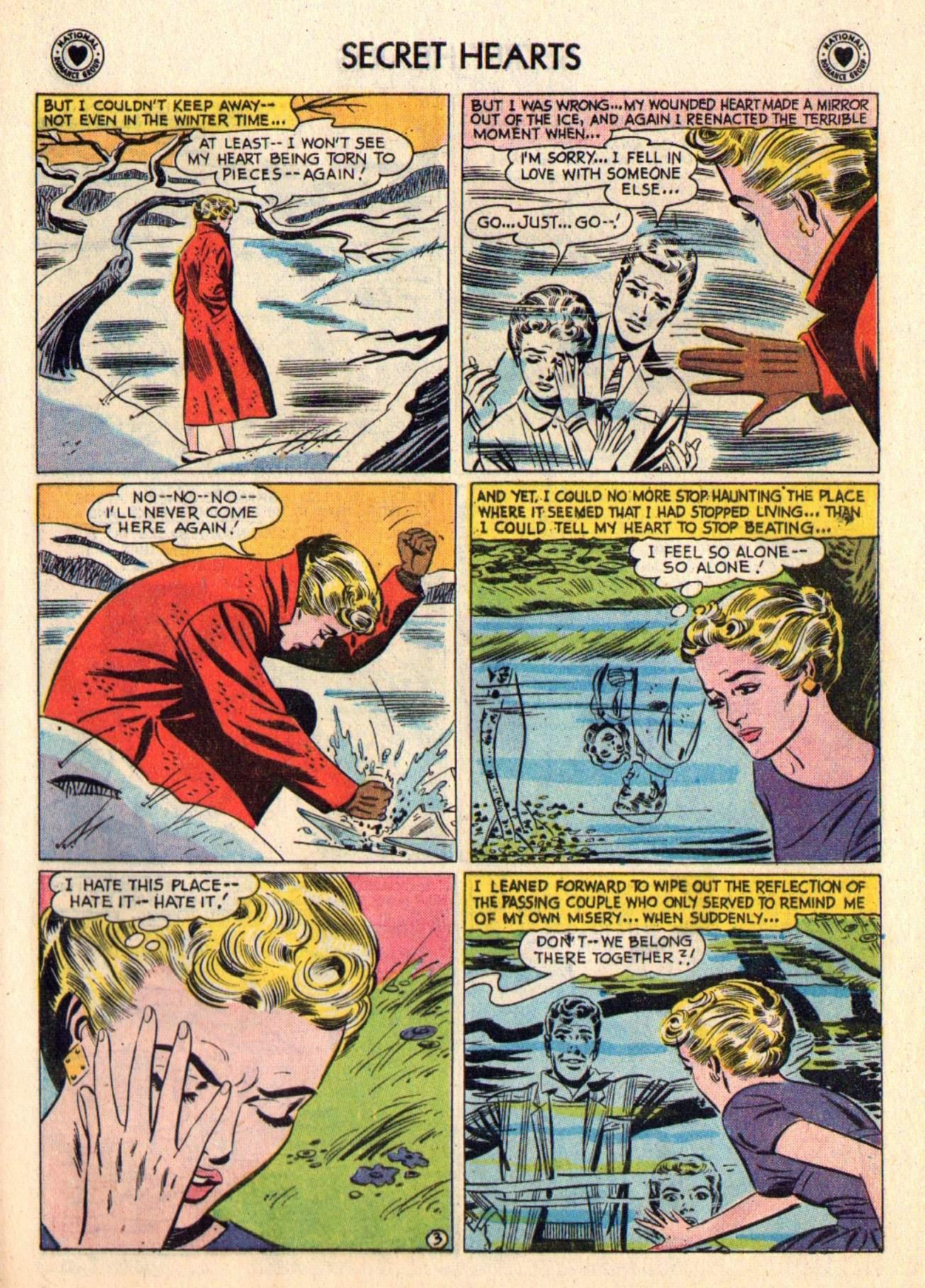Read online Secret Hearts comic -  Issue #48 - 29