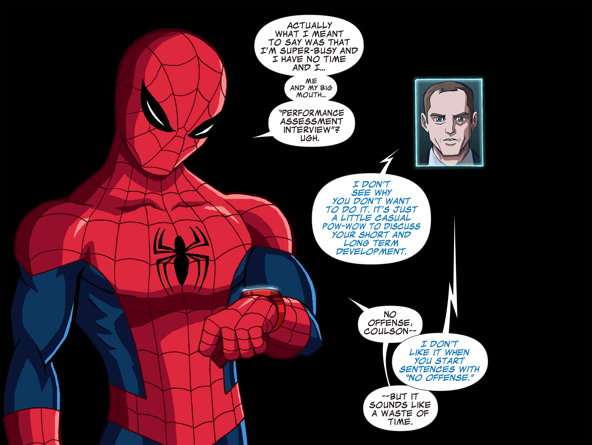 Read online Ultimate Spider-Man (Infinite Comics) (2015) comic -  Issue #1 - 19