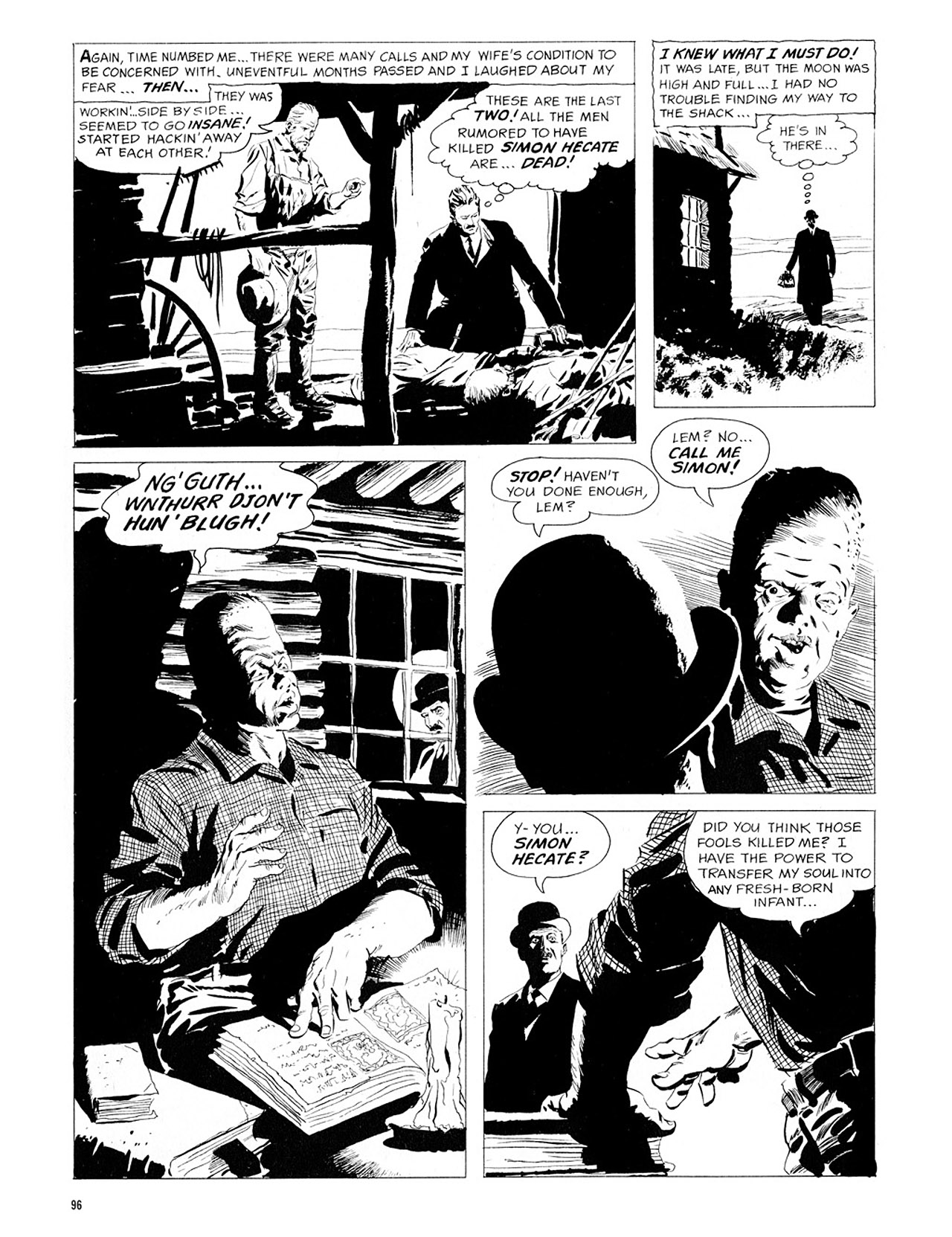 Read online Eerie Archives comic -  Issue # TPB 1 - 97