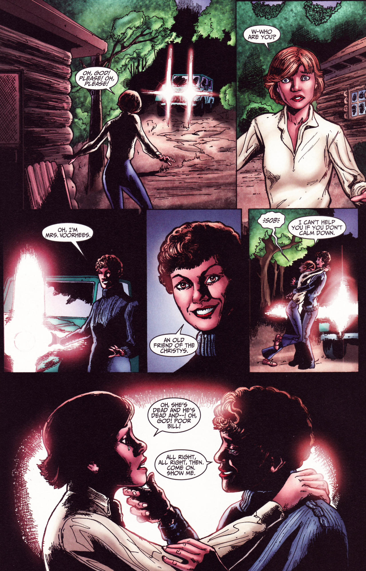 Read online Friday the 13th: Pamela's Tale comic -  Issue #2 - 29