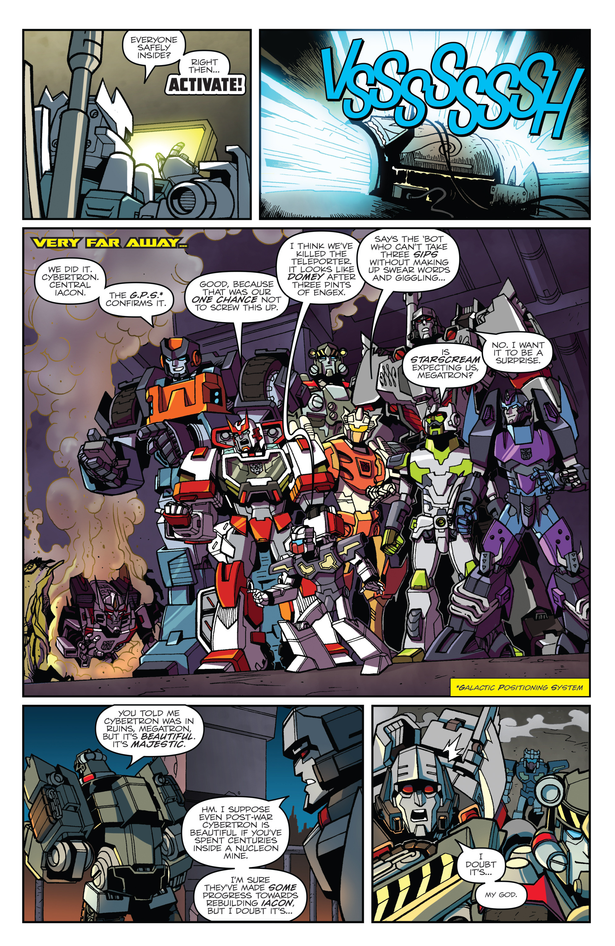 Read online Transformers: Lost Light comic -  Issue #1 - 21