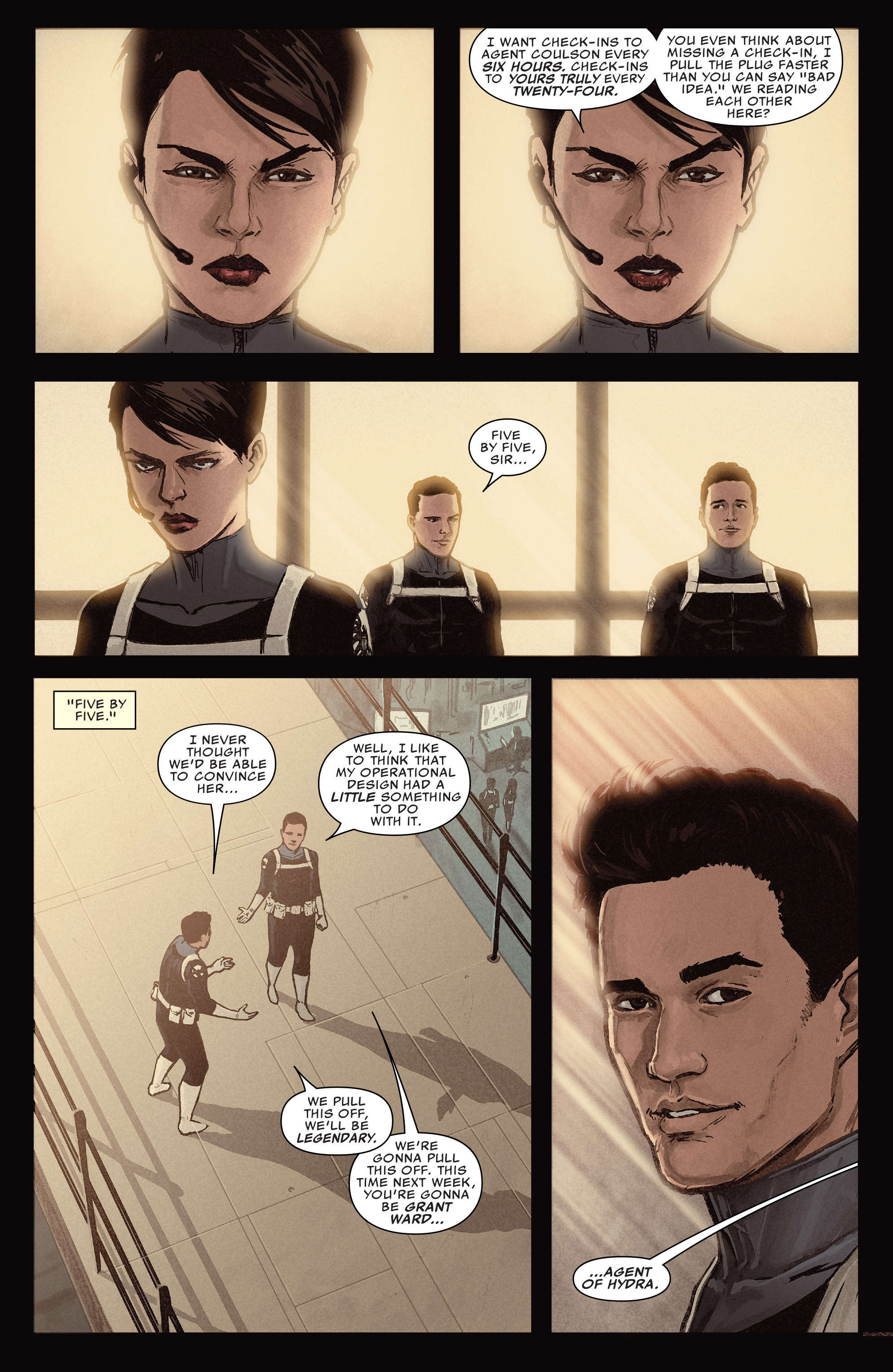 Read online Agents of S.H.I.E.L.D. comic -  Issue #5 - 6