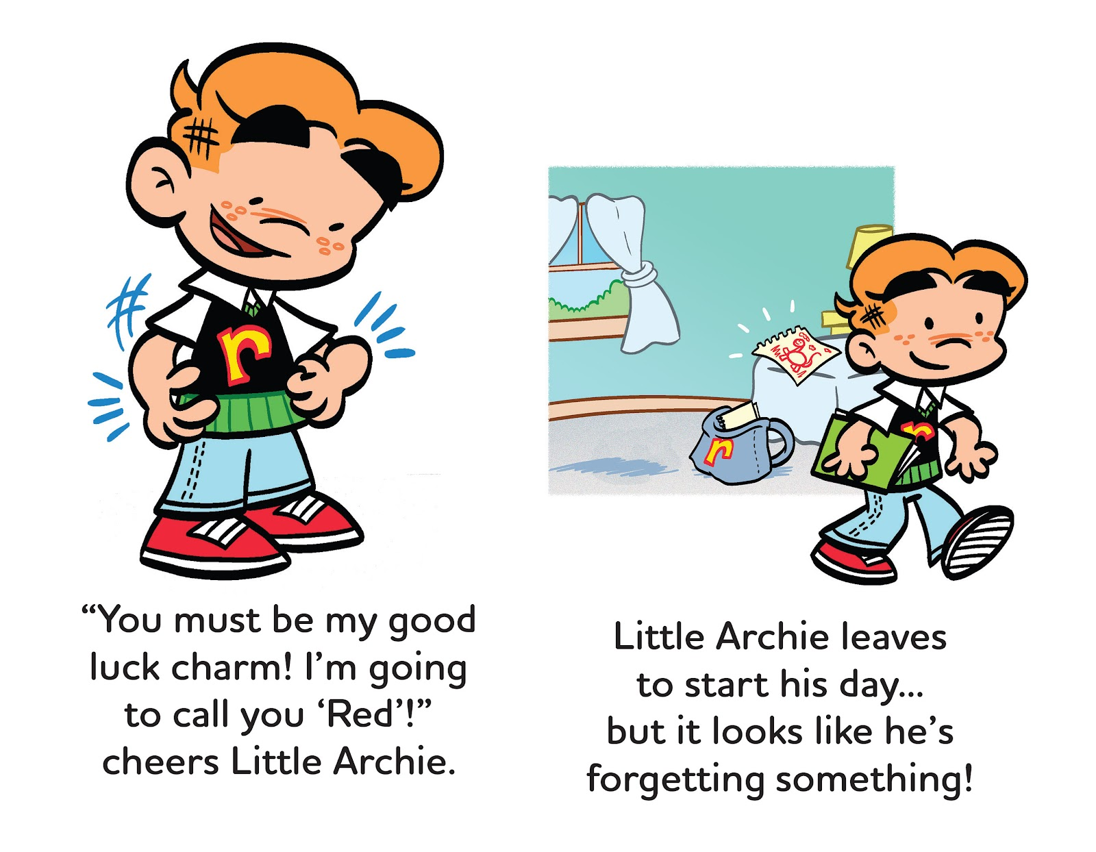 Read online Little Archie's Lucky Day comic -  Issue # Full - 11