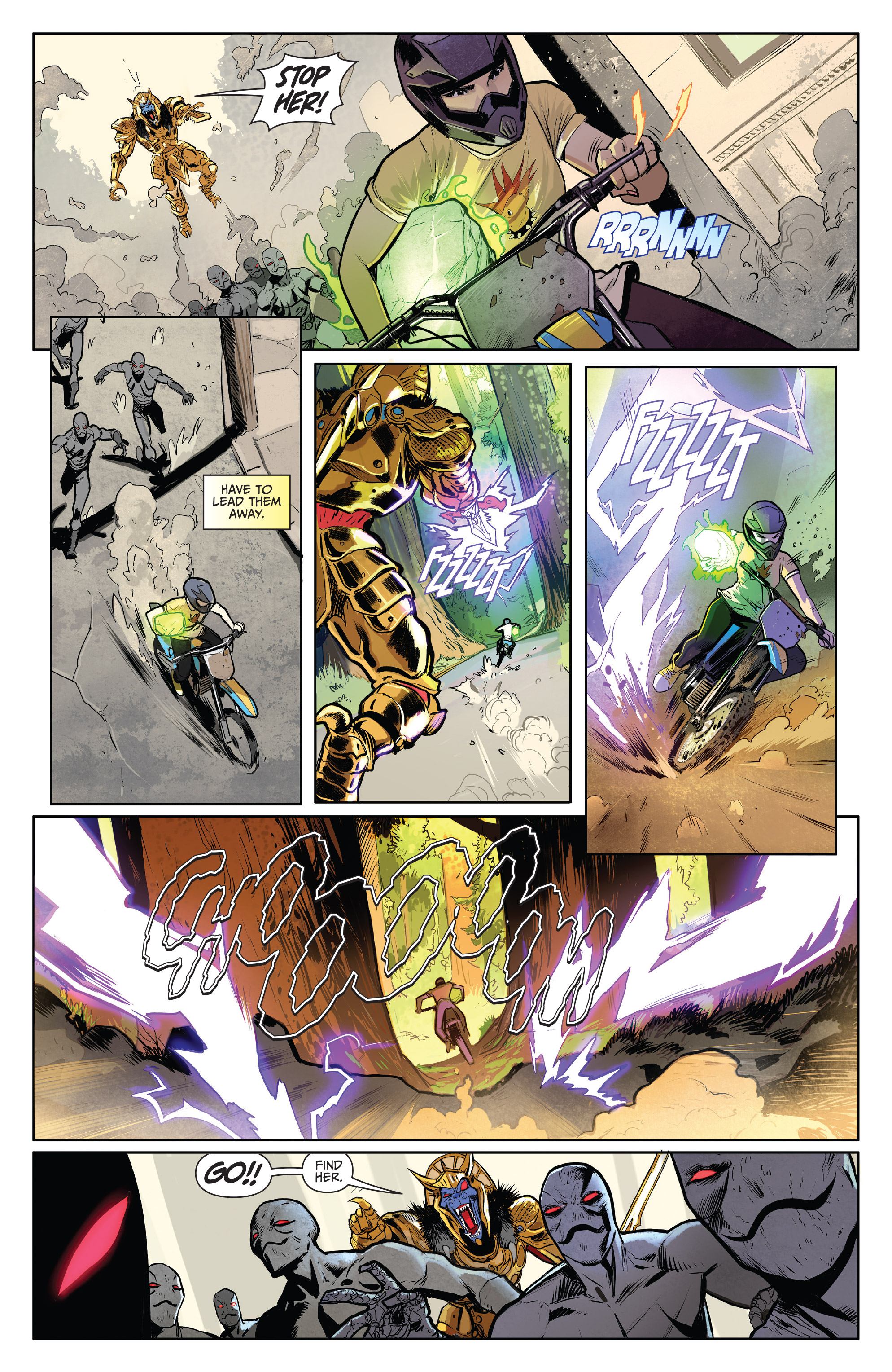 Read online Mighty Morphin Power Rangers comic -  Issue # _Annual 2017 - 14