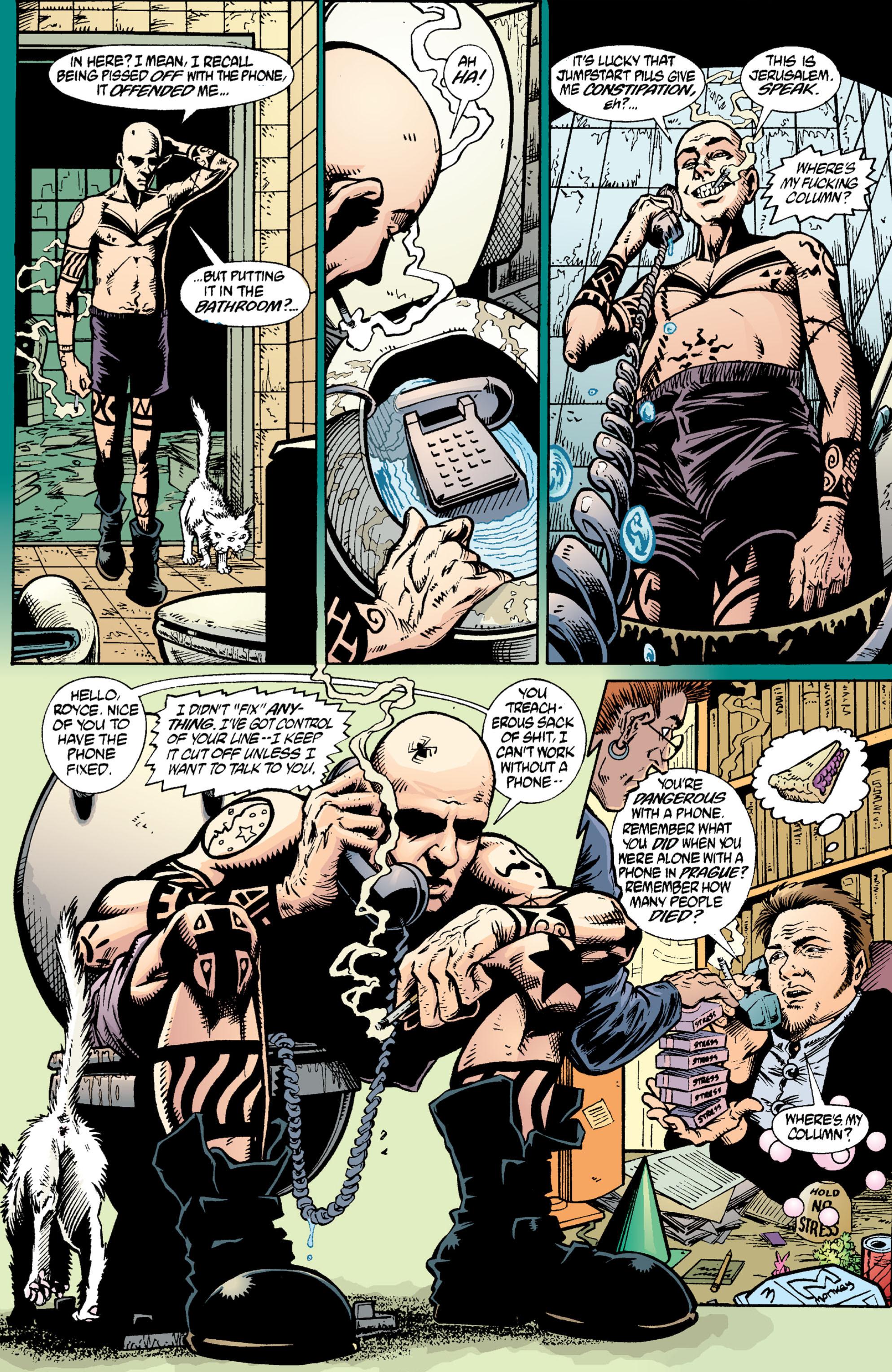 Read online Transmetropolitan comic -  Issue #2 - 20
