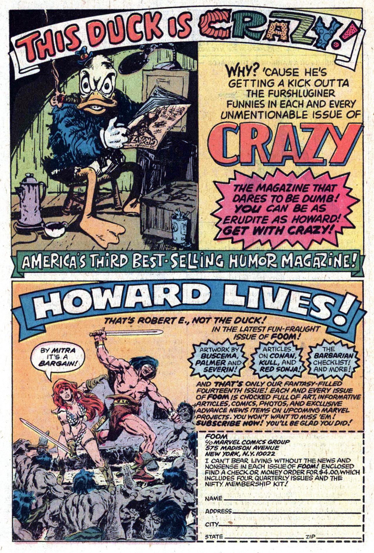 Read online Amazing Adventures (1970) comic -  Issue #39 - 21