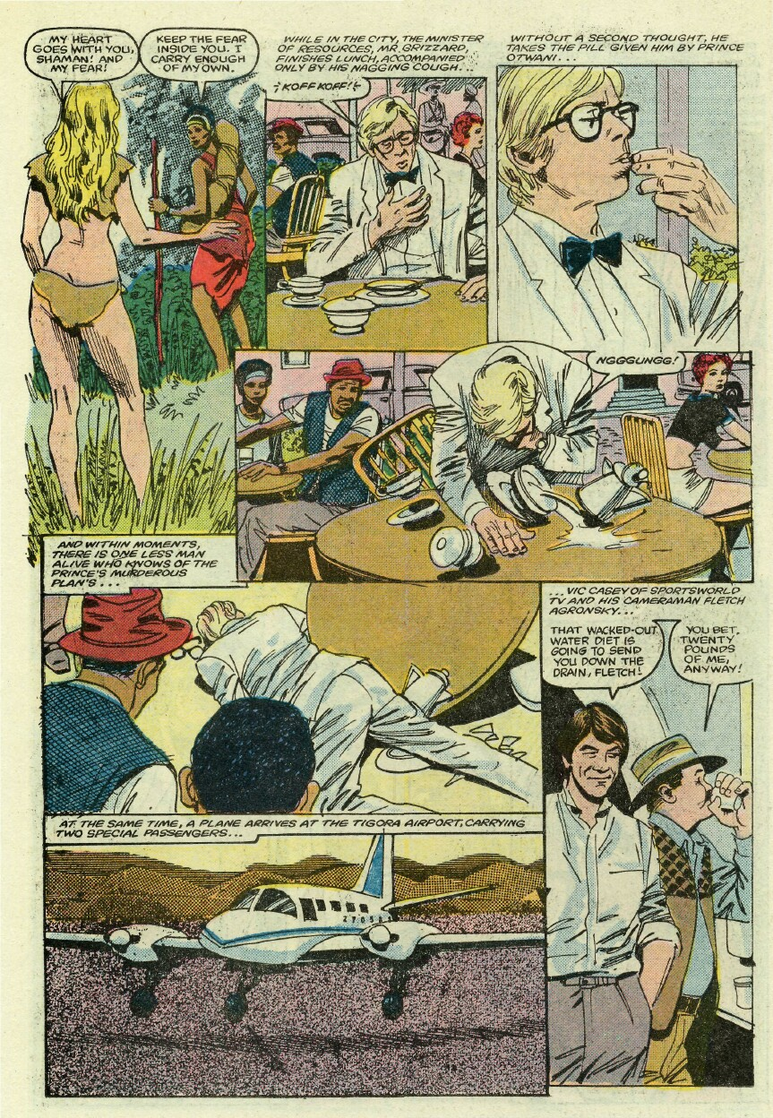 Read online Sheena comic -  Issue #1 - 11