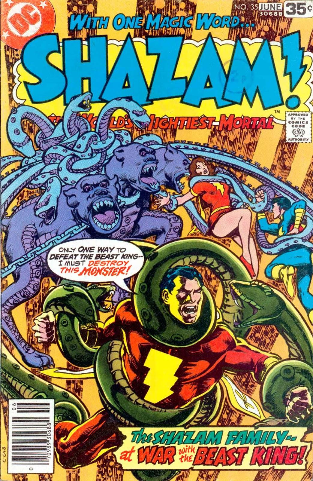 Shazam! (1973) issue 35 - Page 1