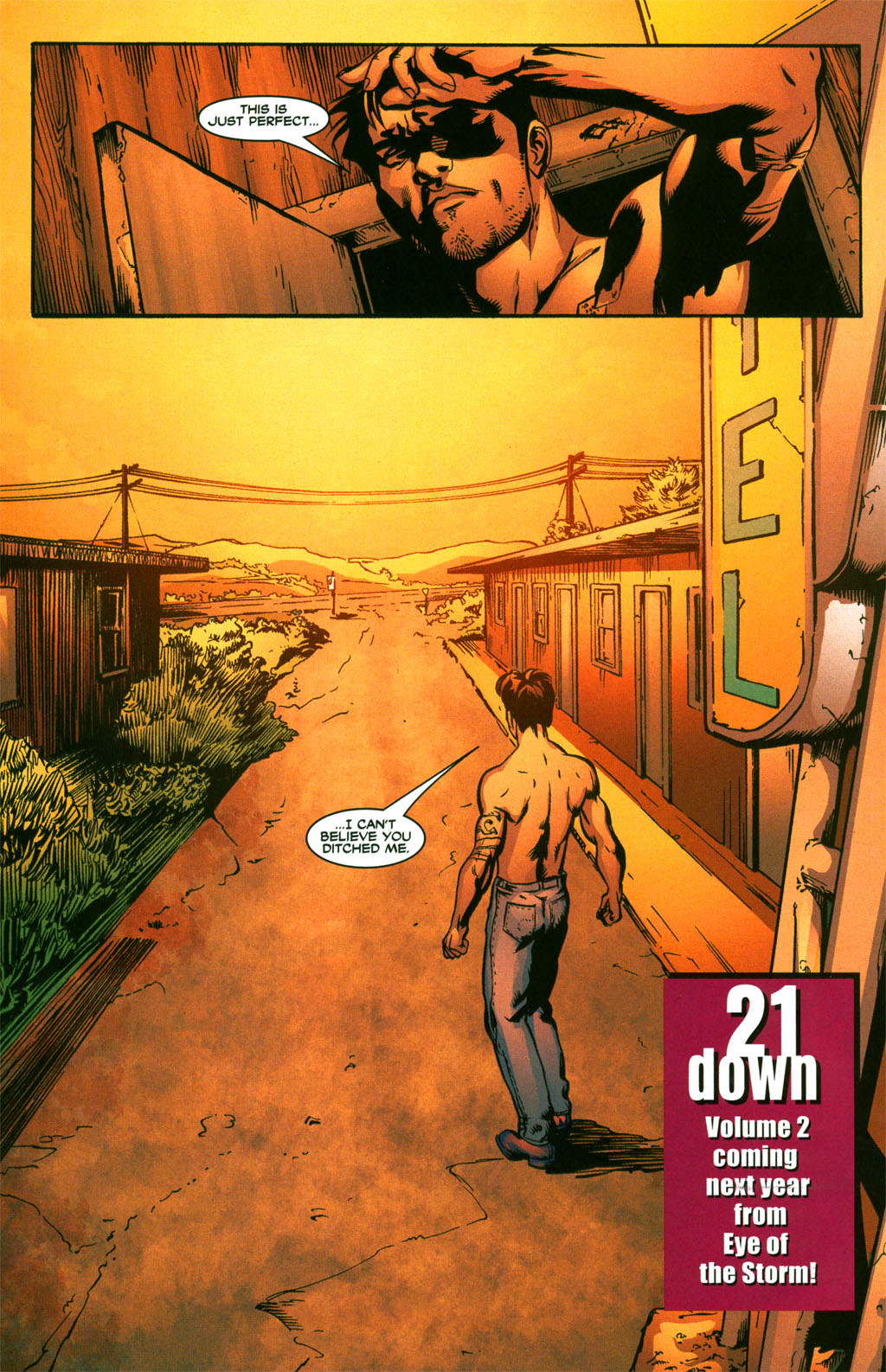 Read online 21 Down comic -  Issue #12 - 24