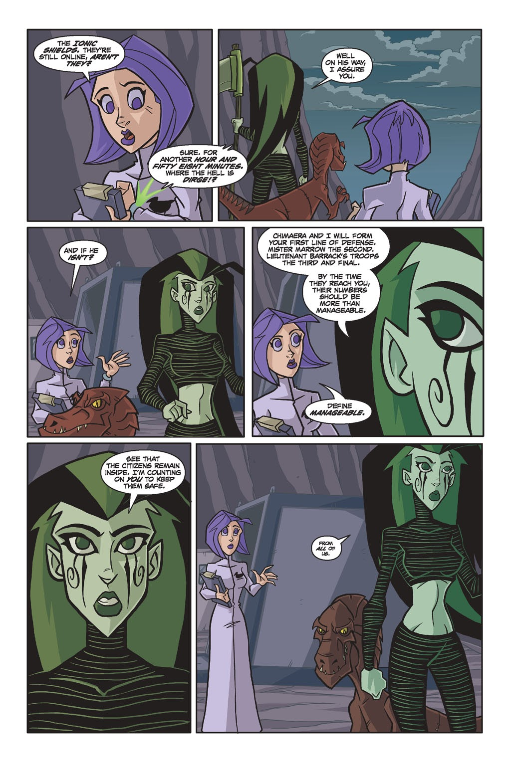 Read online Xombie Reanimated comic -  Issue #4 - 9