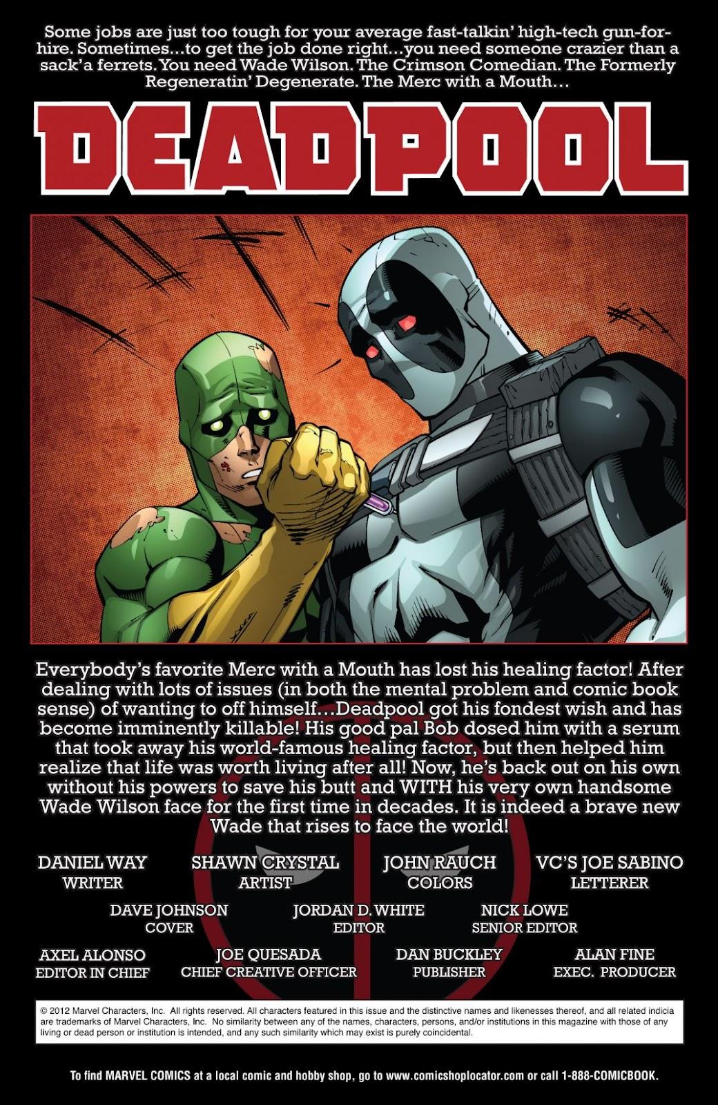 Read online Deadpool (2008) comic -  Issue #55 - 2