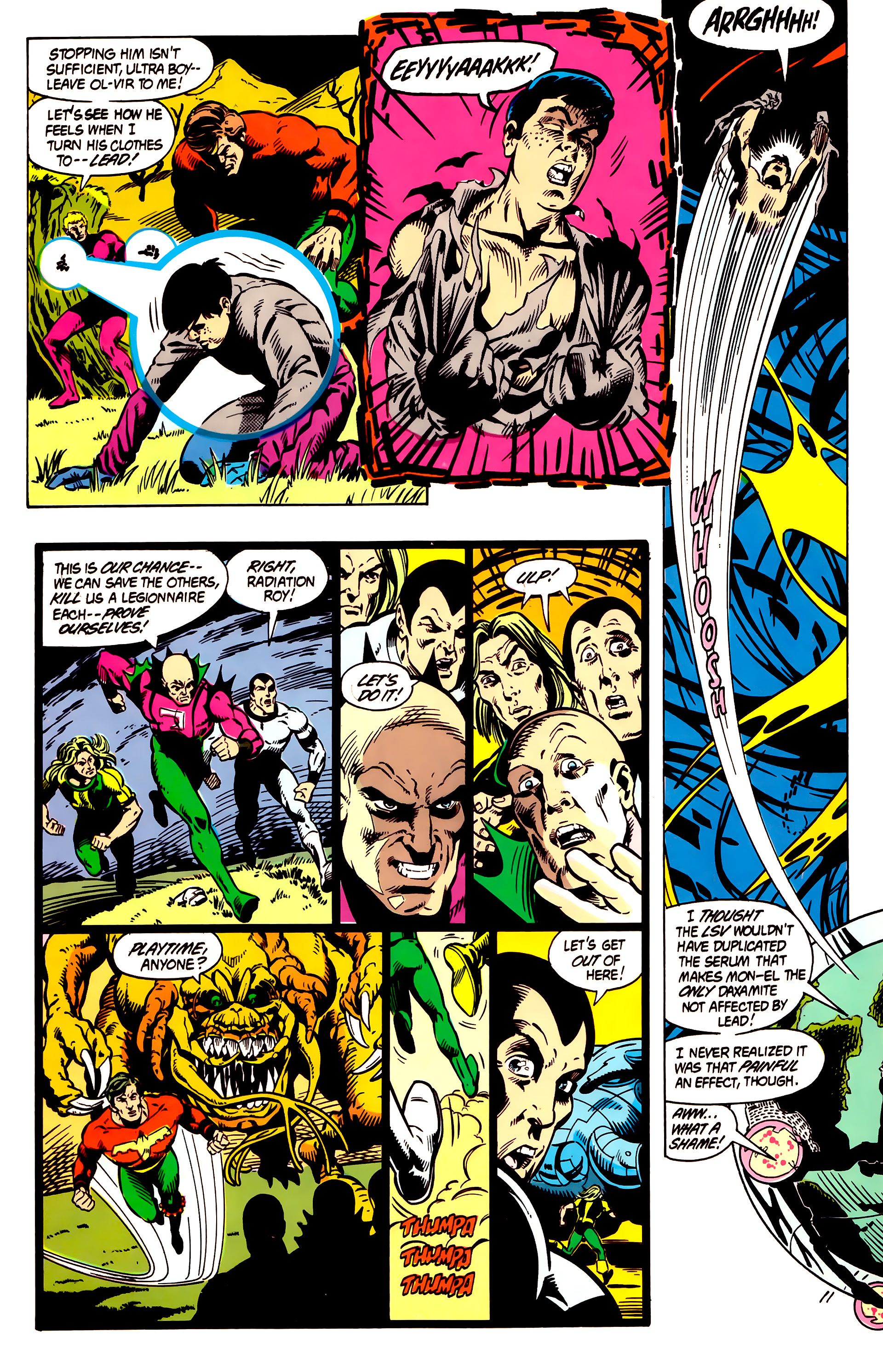 Legion of Super-Heroes (1984) 5 Page 12